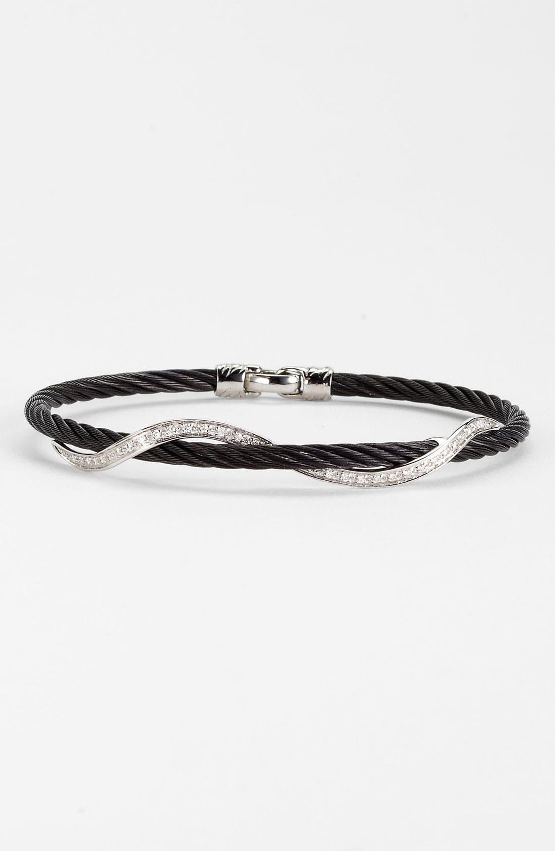 Main Image - ALOR® Diamond Twist Bracelet