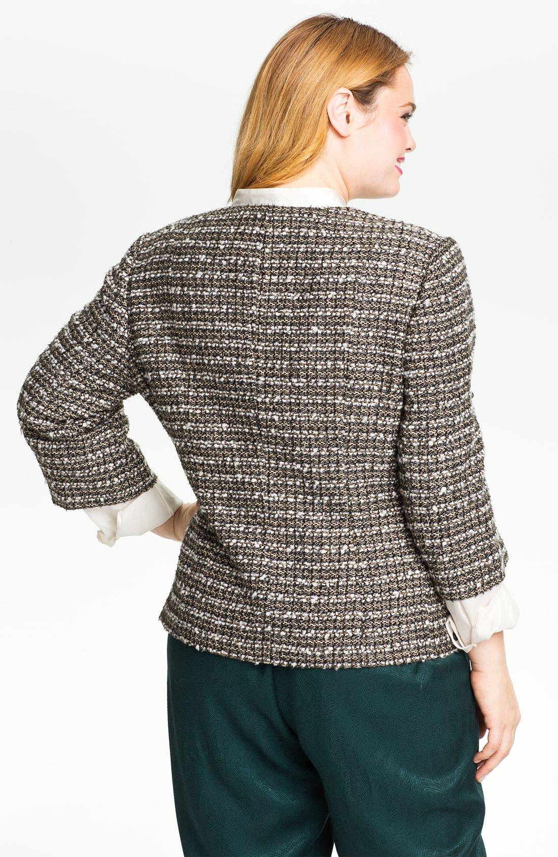 Alternate Image 2  - Sejour Tweed Jacket (Plus)