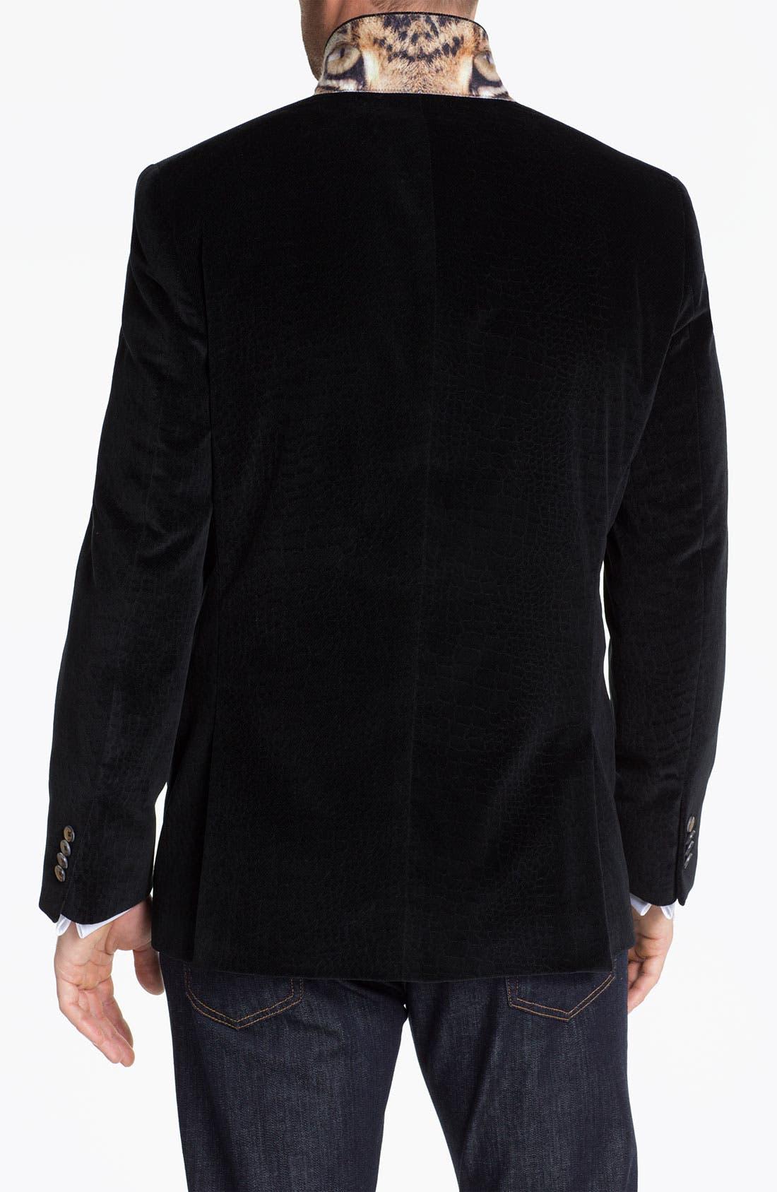 Alternate Image 2  - Ted Baker London 'Global' Trim Fit Textured Sportcoat