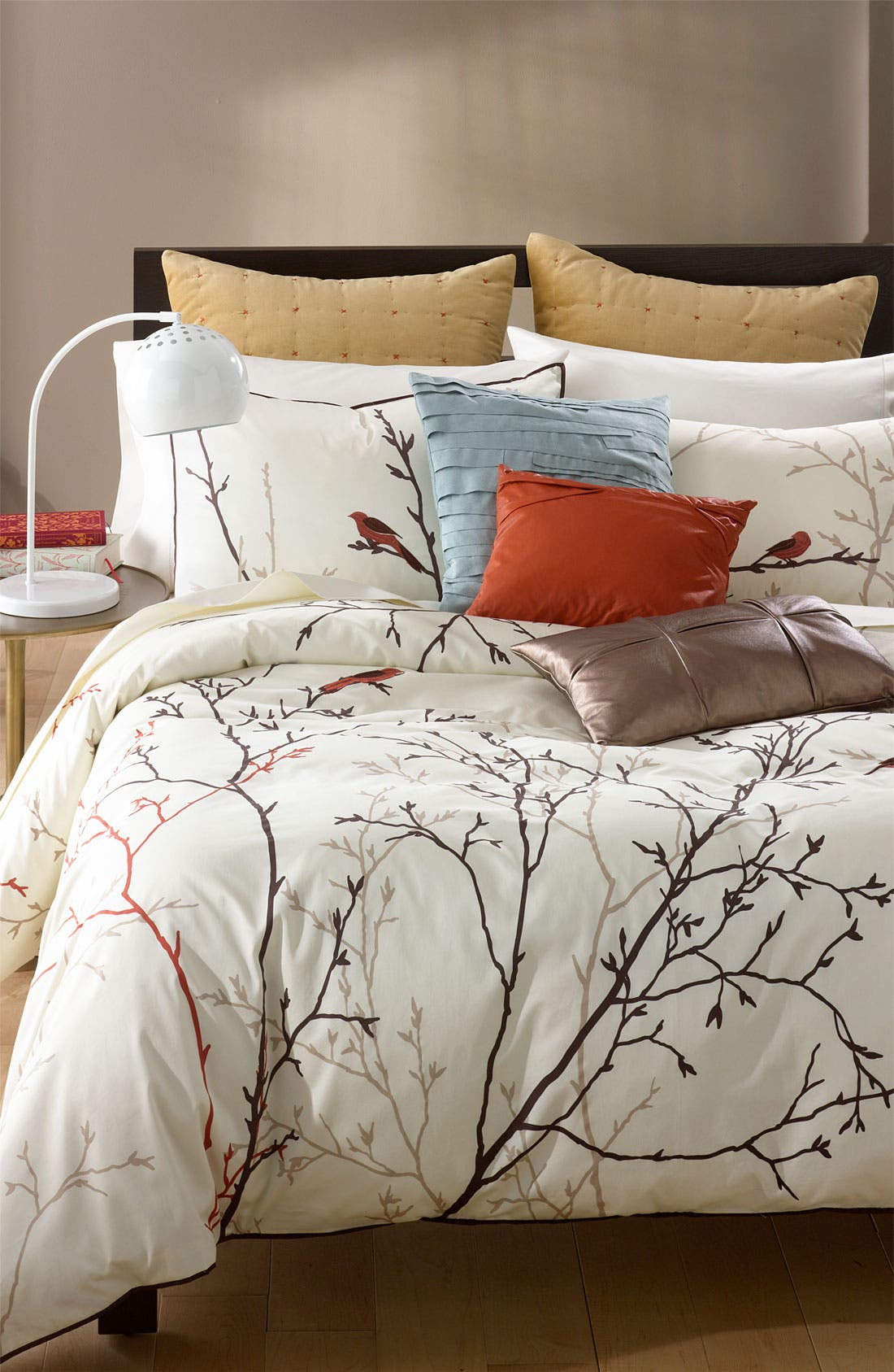 Alternate Image 2  - Blissliving Home 'Theo - Persimmon' Faux Leather Pillow (Online Only)