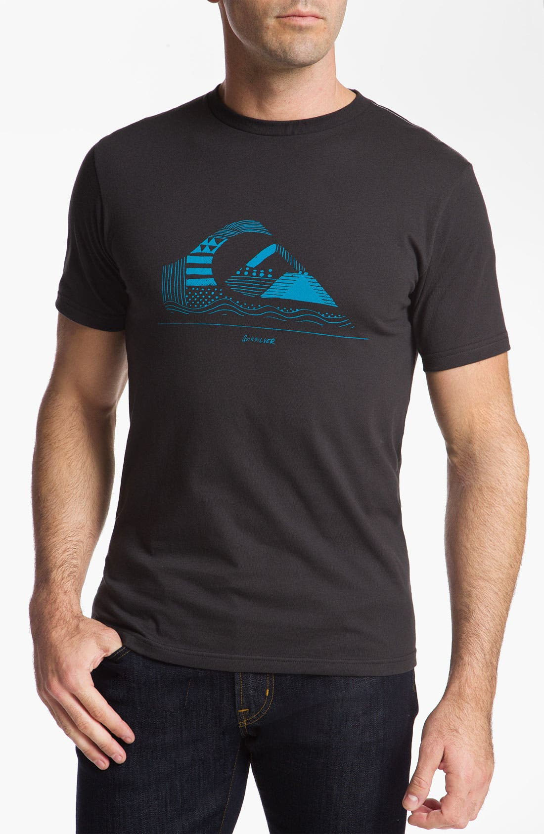 Alternate Image 1 Selected - Quiksilver 'Casting Call' T-Shirt