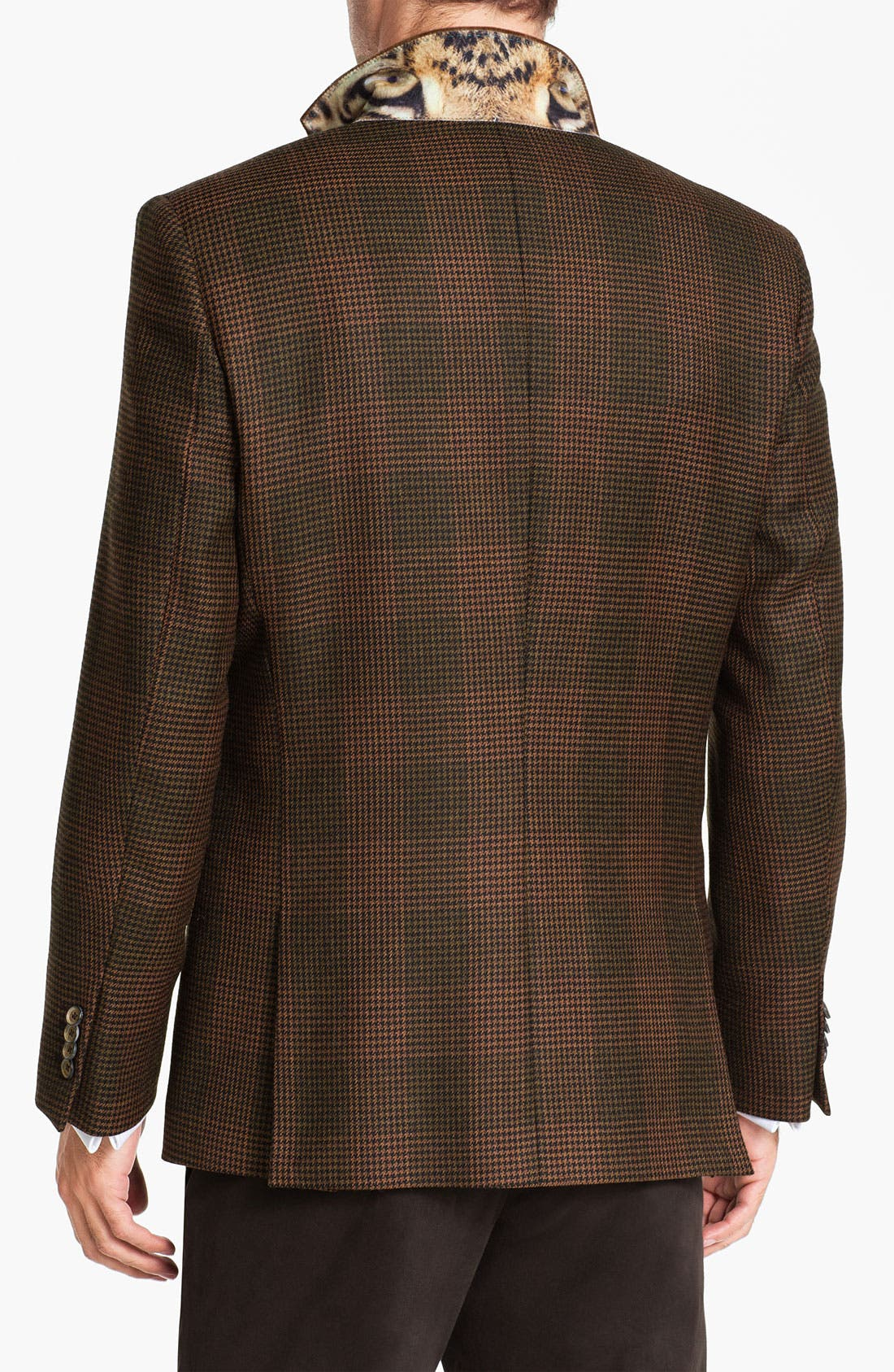 Alternate Image 2  - Ted Baker London 'Global' Trim Fit Check Sportcoat