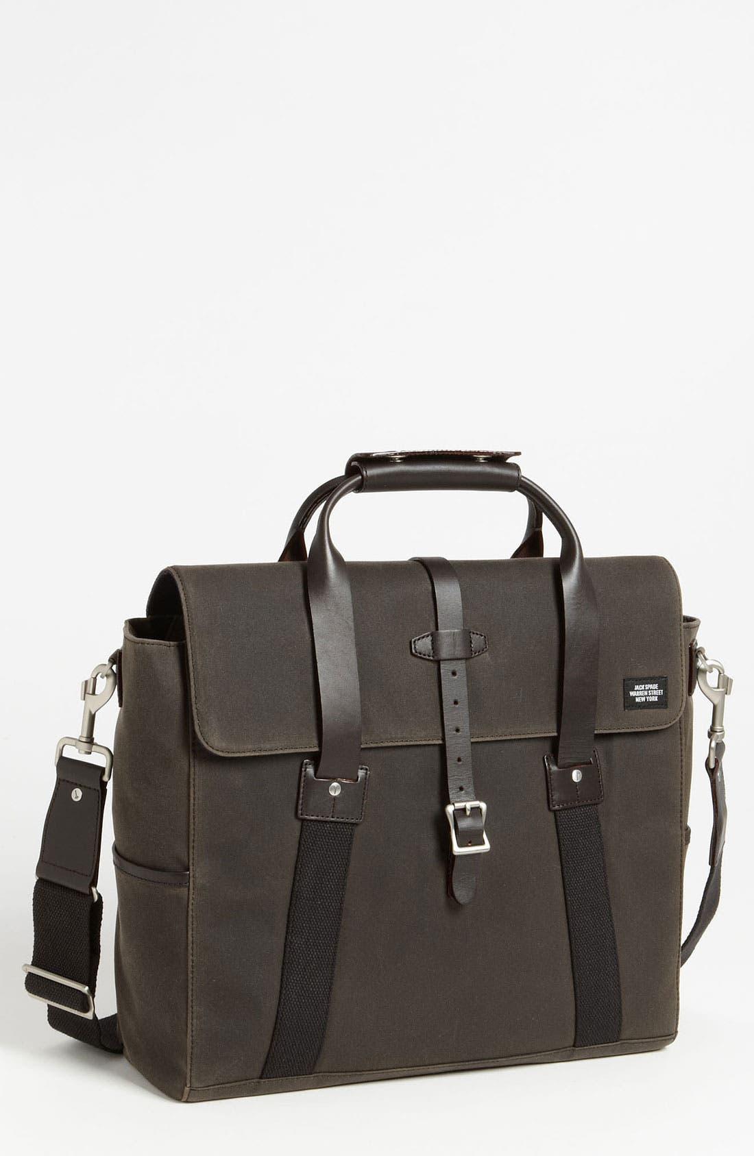 Main Image - Jack Spade 'Waxwear' Briefcase