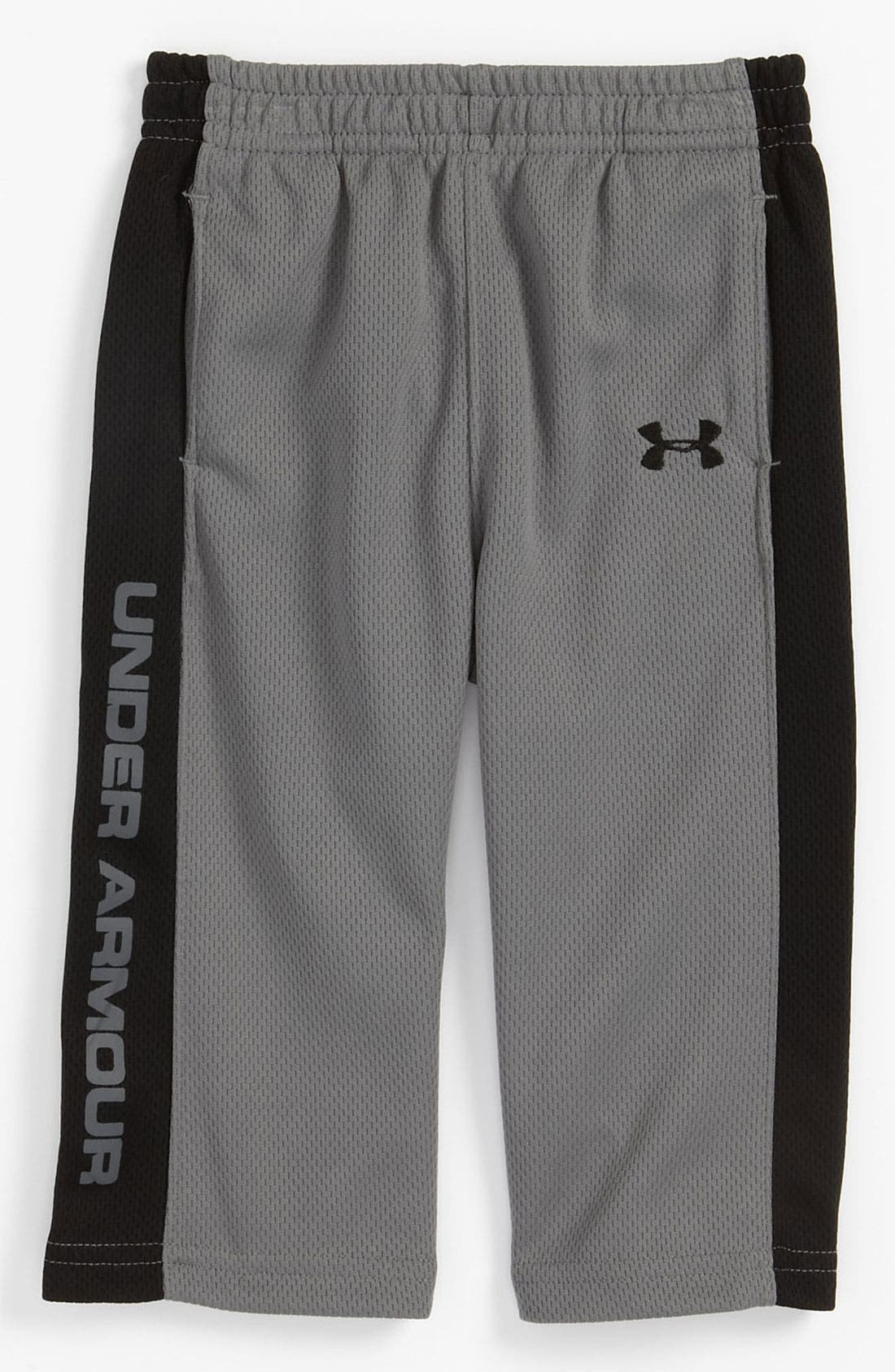 Alternate Image 1 Selected - Under Armour Mesh Pants (Infant)