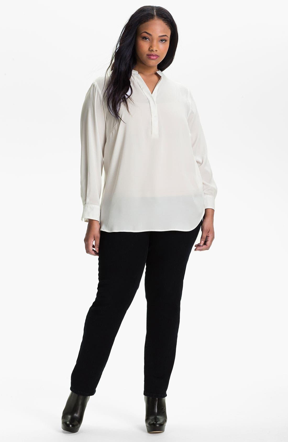 Alternate Image 1 Selected - Sandra Ingrish Pullover Tunic (Plus)