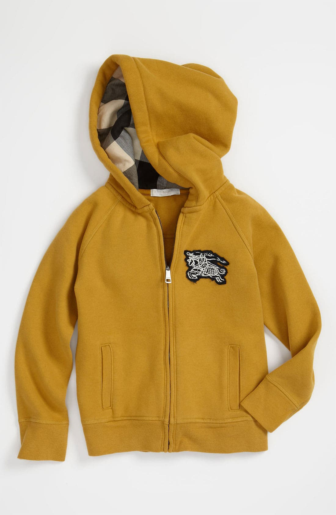 Alternate Image 1 Selected - Burberry Hoodie (Little Boys)