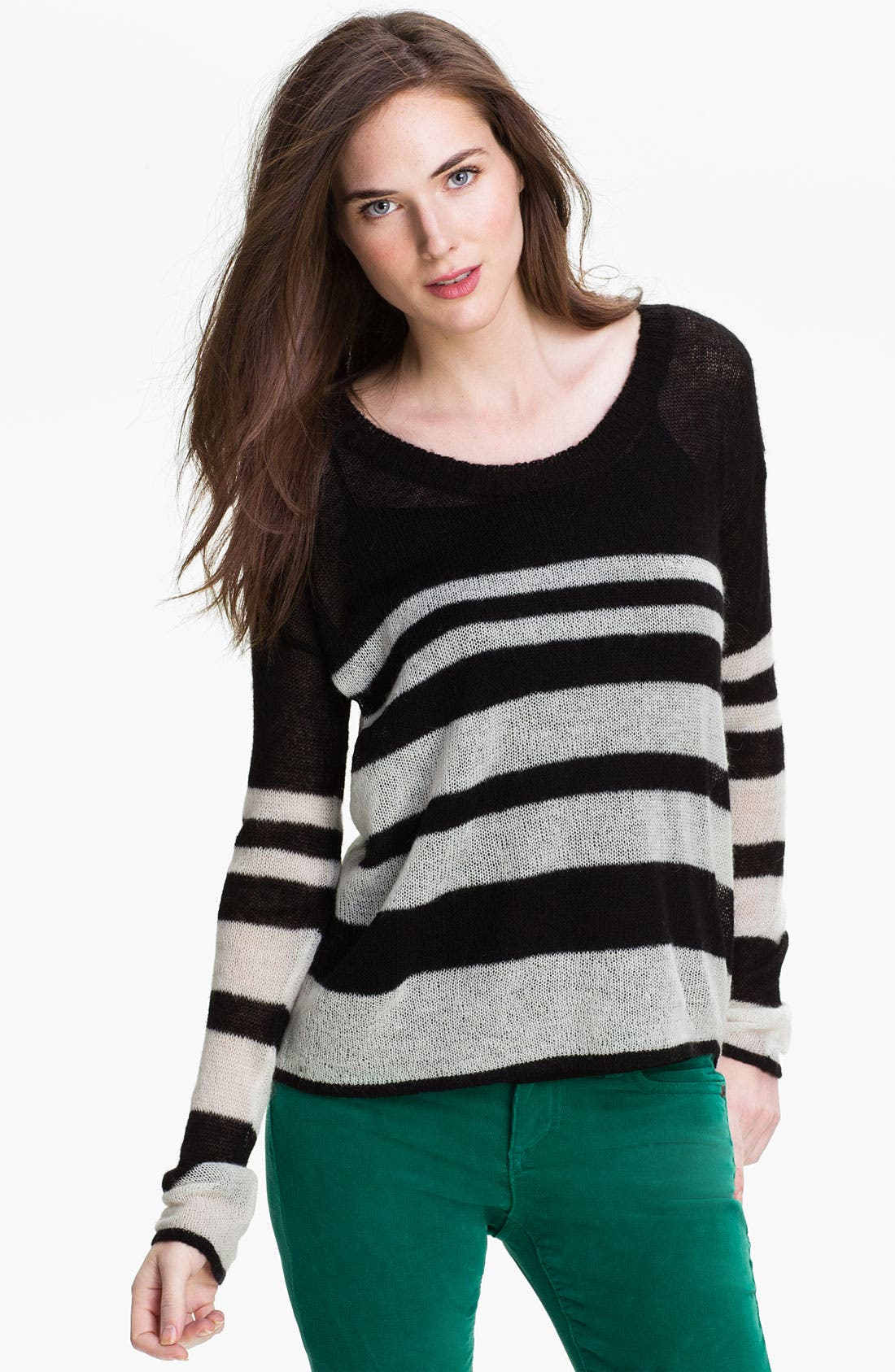 Alternate Image 1 Selected - Kensie Stripe Sweater