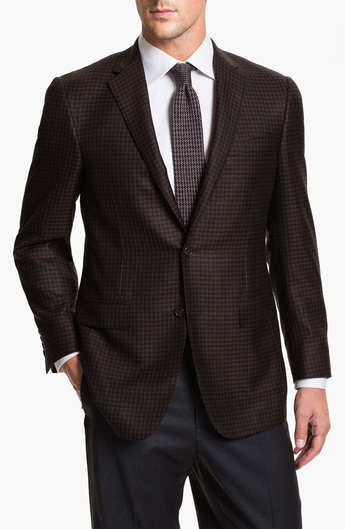 Alternate Image 1 Selected - Samuelsohn Cashmere Sportcoat
