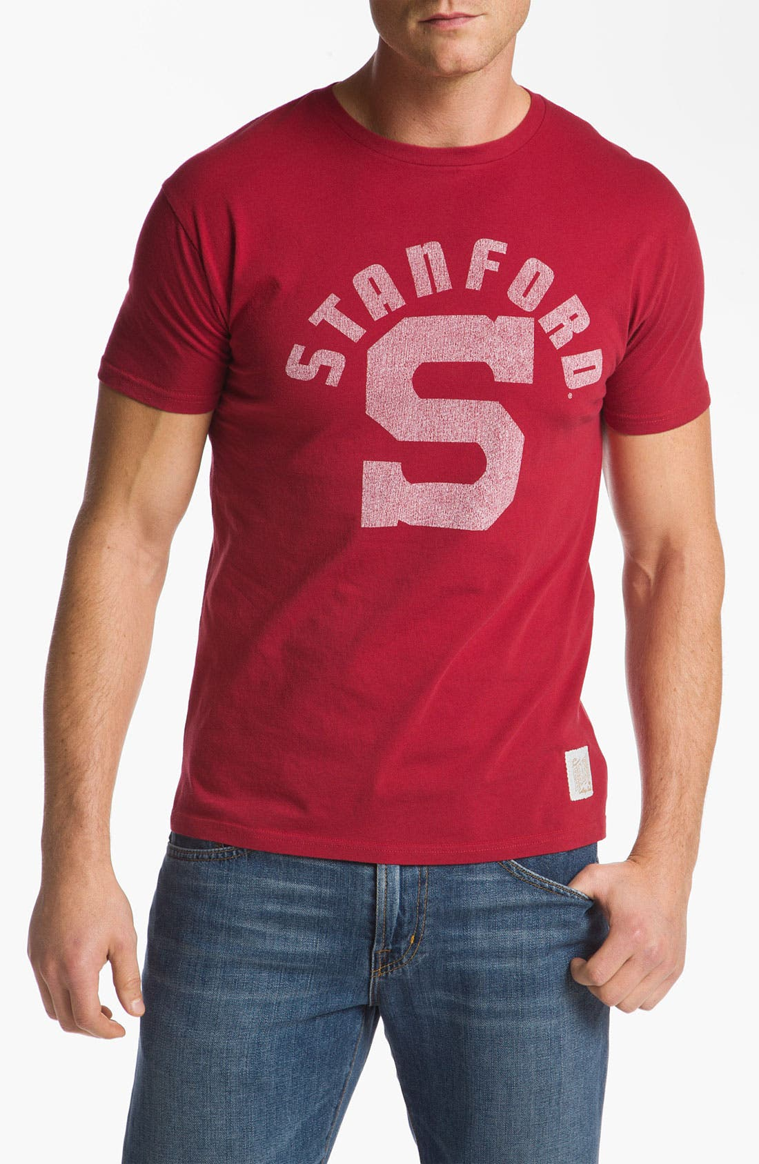 Alternate Image 1 Selected - The Original Retro Brand 'Stanford Cardinal' T-Shirt