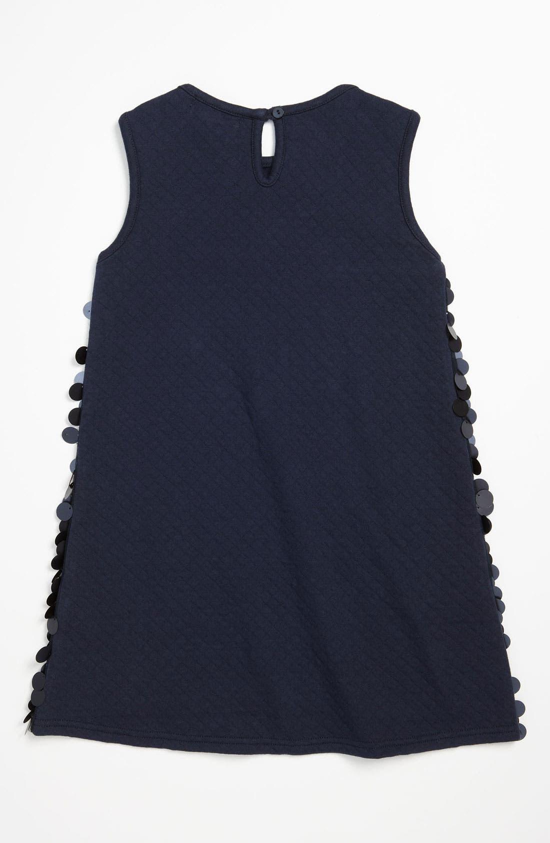 Alternate Image 2  - Halabaloo Paillette Dress (Little Girls & Big Girls)