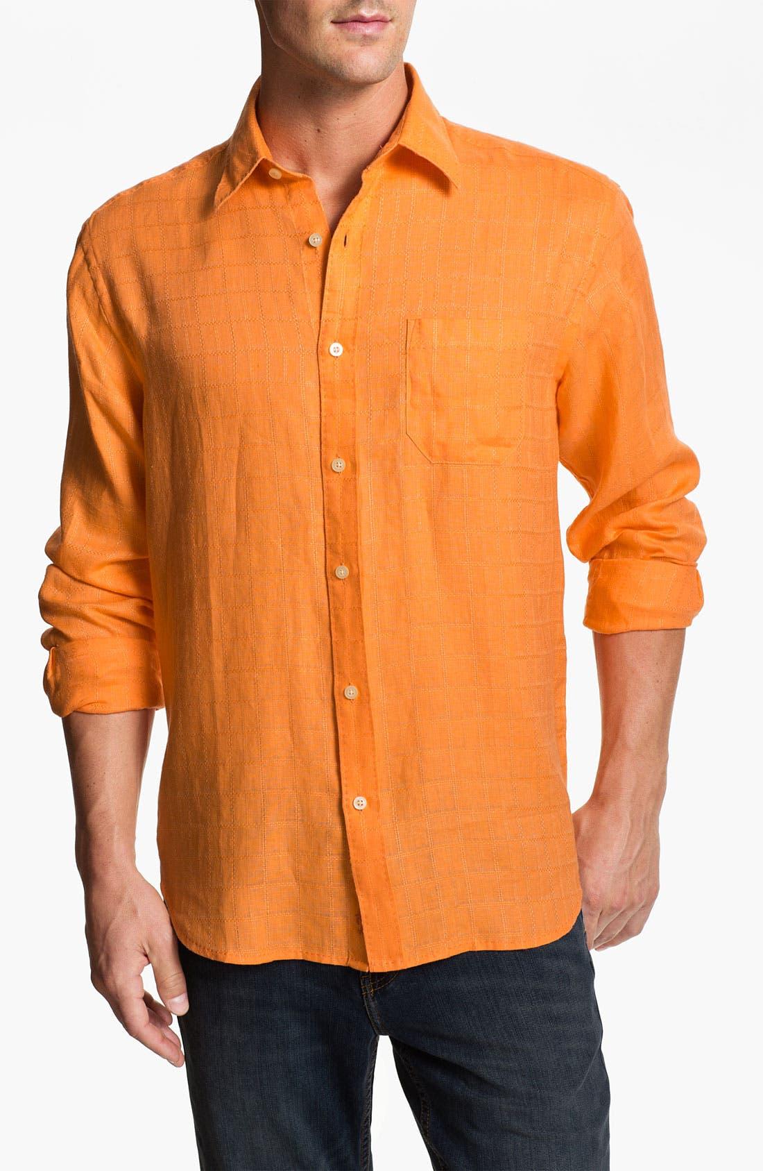 Alternate Image 1 Selected - Tommy Bahama 'Costa Sera' Linen Sport Shirt