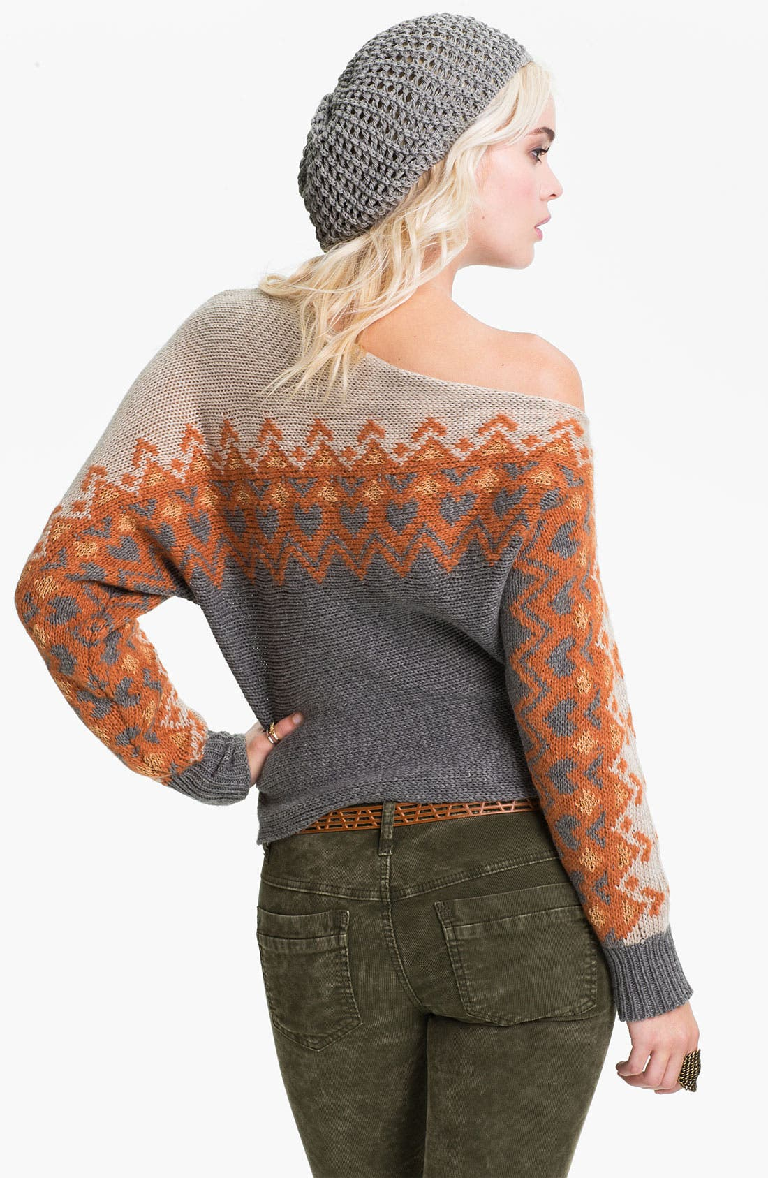 Alternate Image 2  - Free People Off Shoulder Ski Sweater
