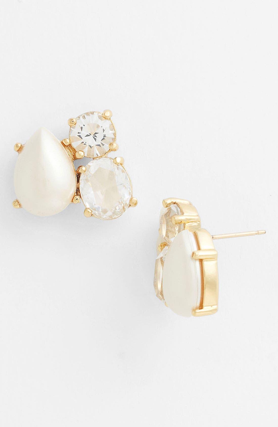 Alternate Image 1 Selected - kate spade new york 'fragment' cluster stud earrings