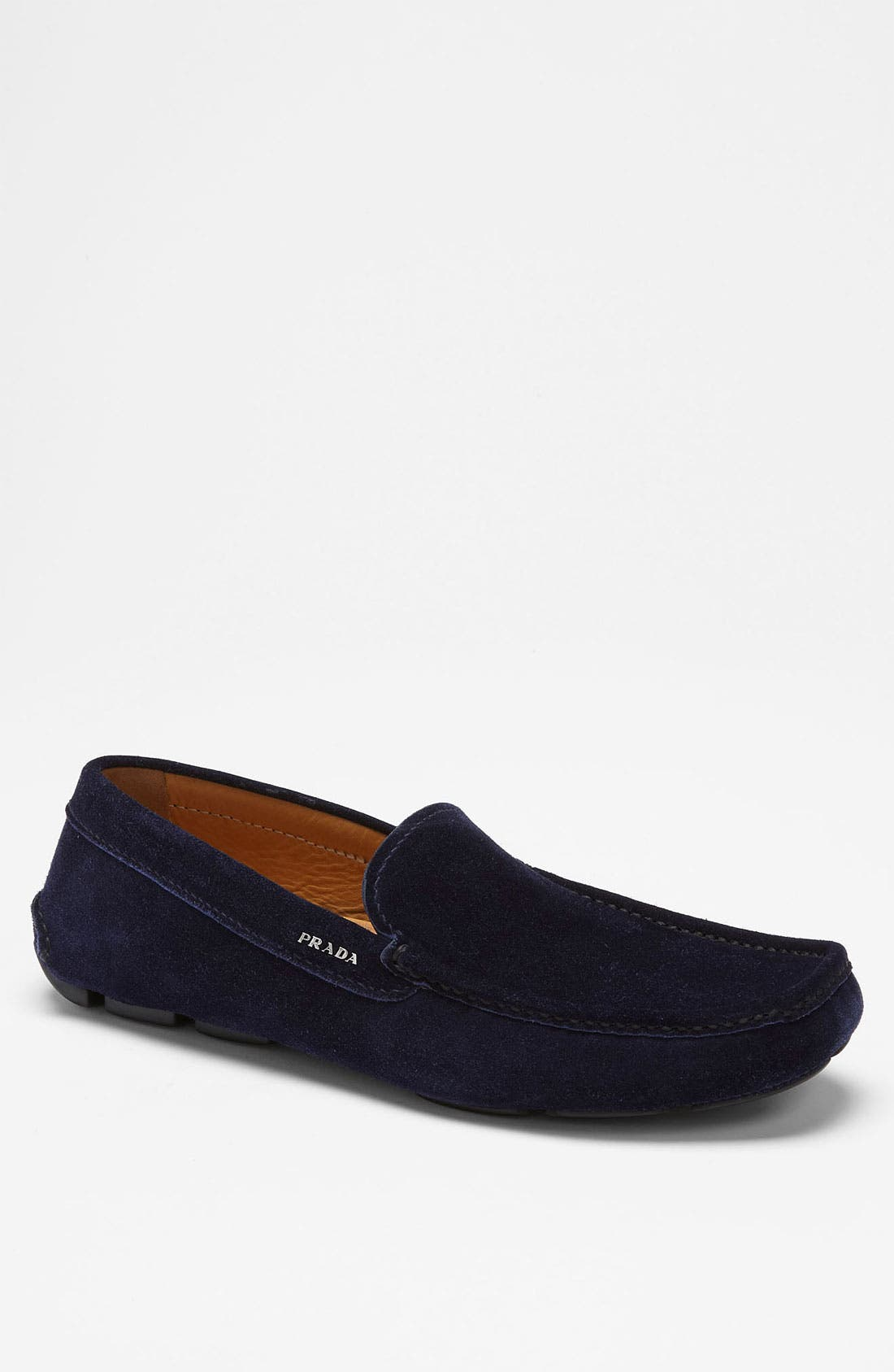 Main Image - Prada Suede Driving Shoe