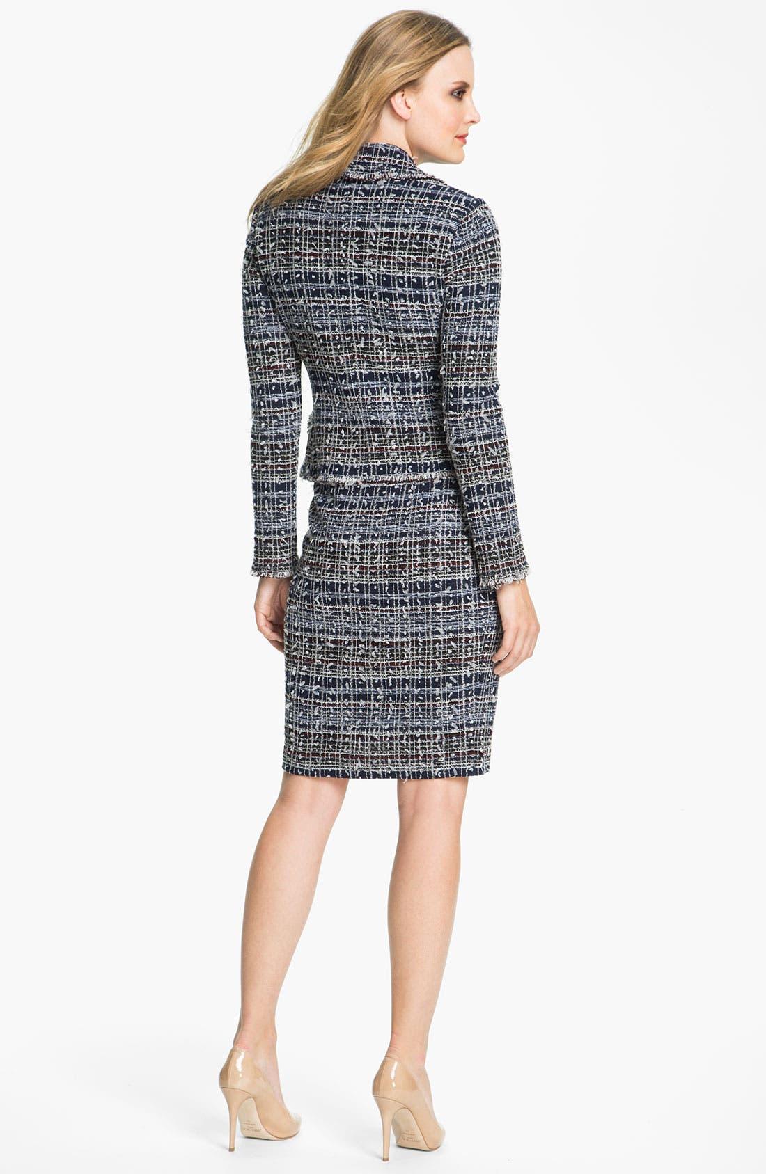 Alternate Image 4  - St. John Collection 'Sutton' Tweed Knit Jacket