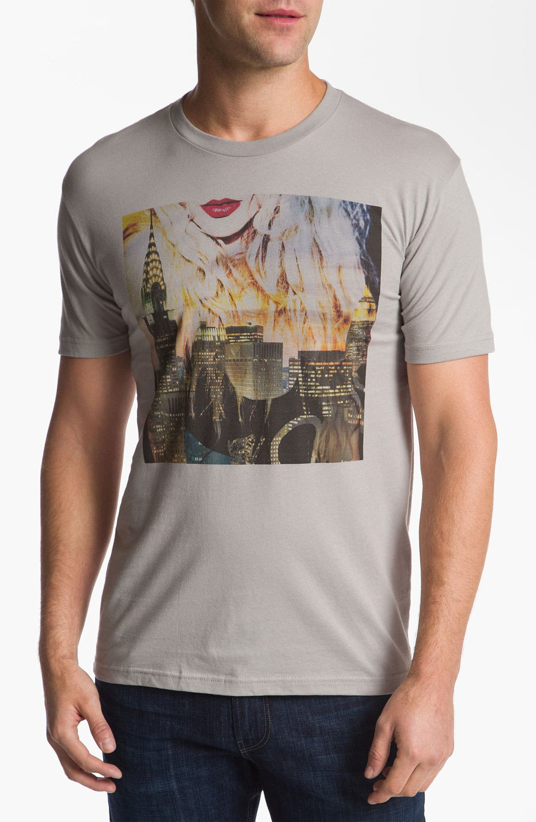Alternate Image 1 Selected - Kid Dangerous Grime Couture 'City Life' Graphic T-Shirt