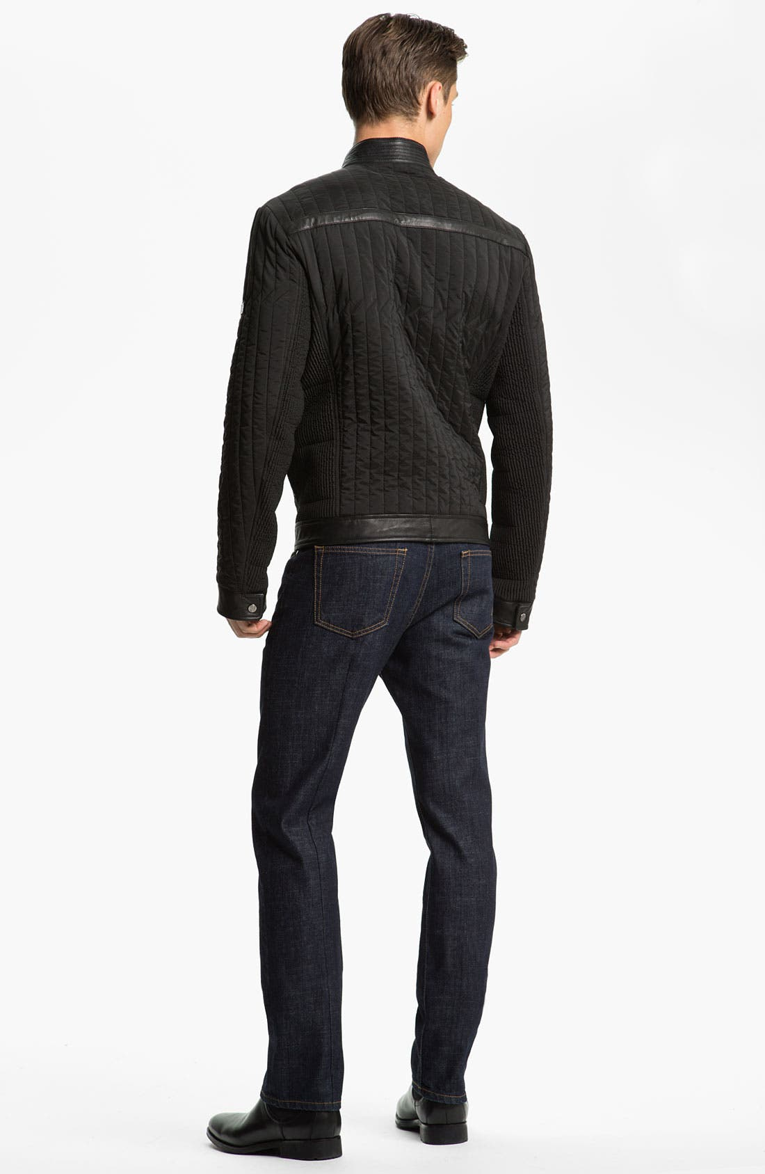 Alternate Image 5  - Versace Quilted Jacket
