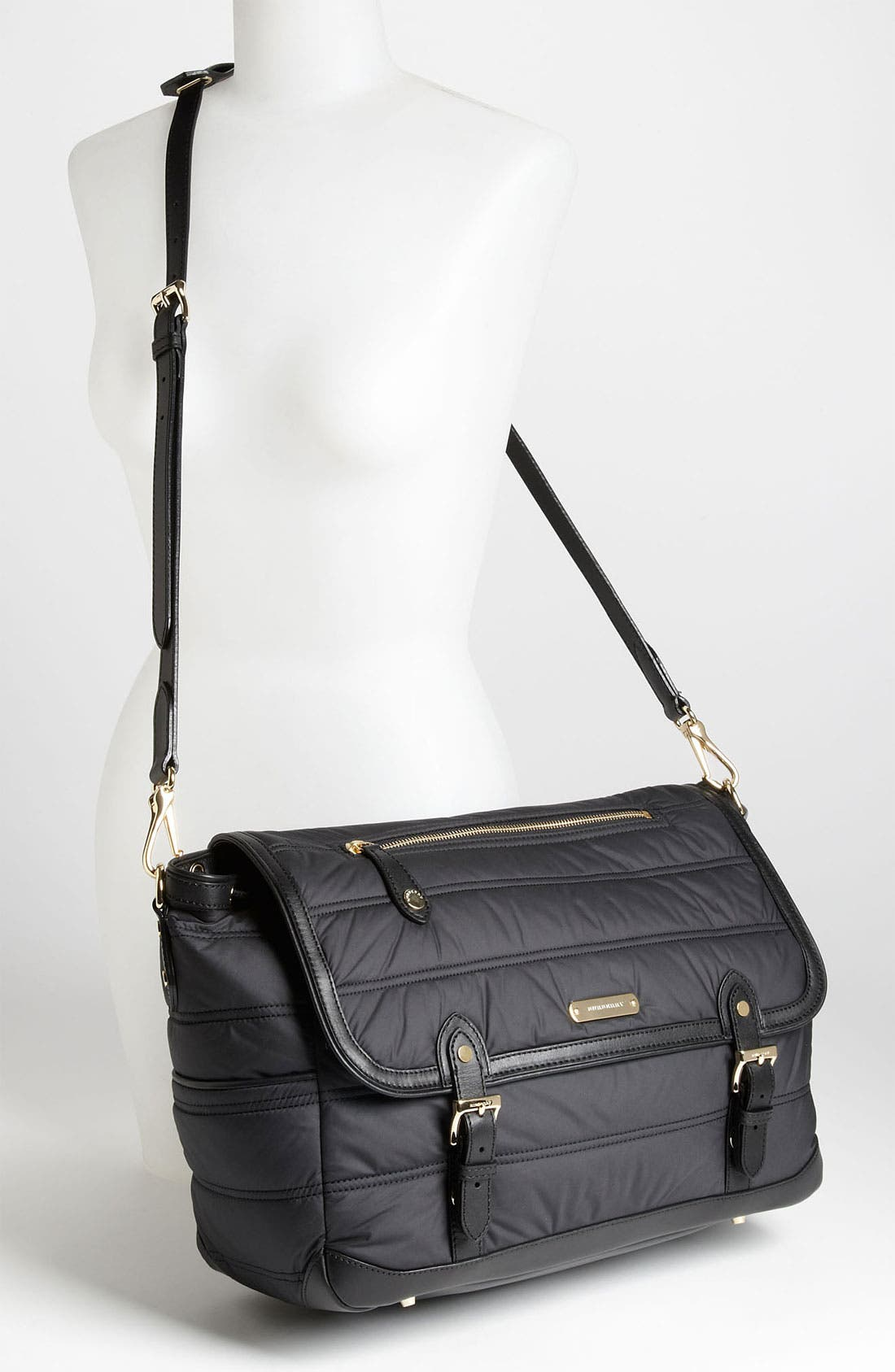 Alternate Image 2  - Burberry Quilted Diaper Bag