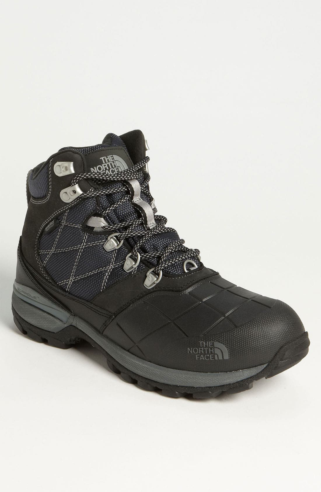 'Snowsquall' Snow Boot,                             Main thumbnail 1, color,                             Black/ Griffin Grey