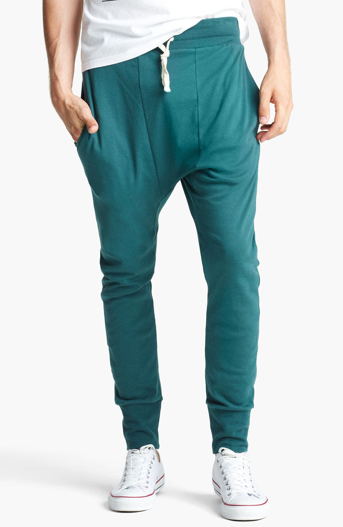 Alternate Image 1 Selected - Topman Jersey Cotton Athletic Pants