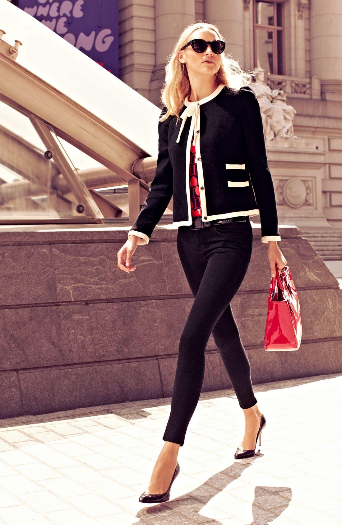 Alternate Image 5  - Milly 'Marizia' Bow Detail Jacket