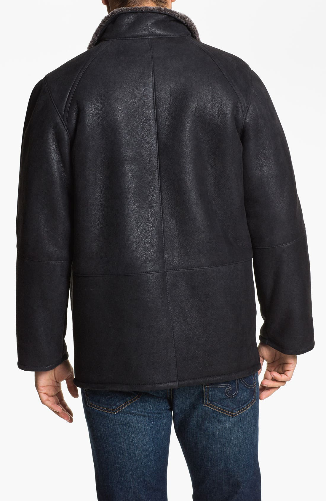 Alternate Image 2  - Blue Duck Leather Jacket