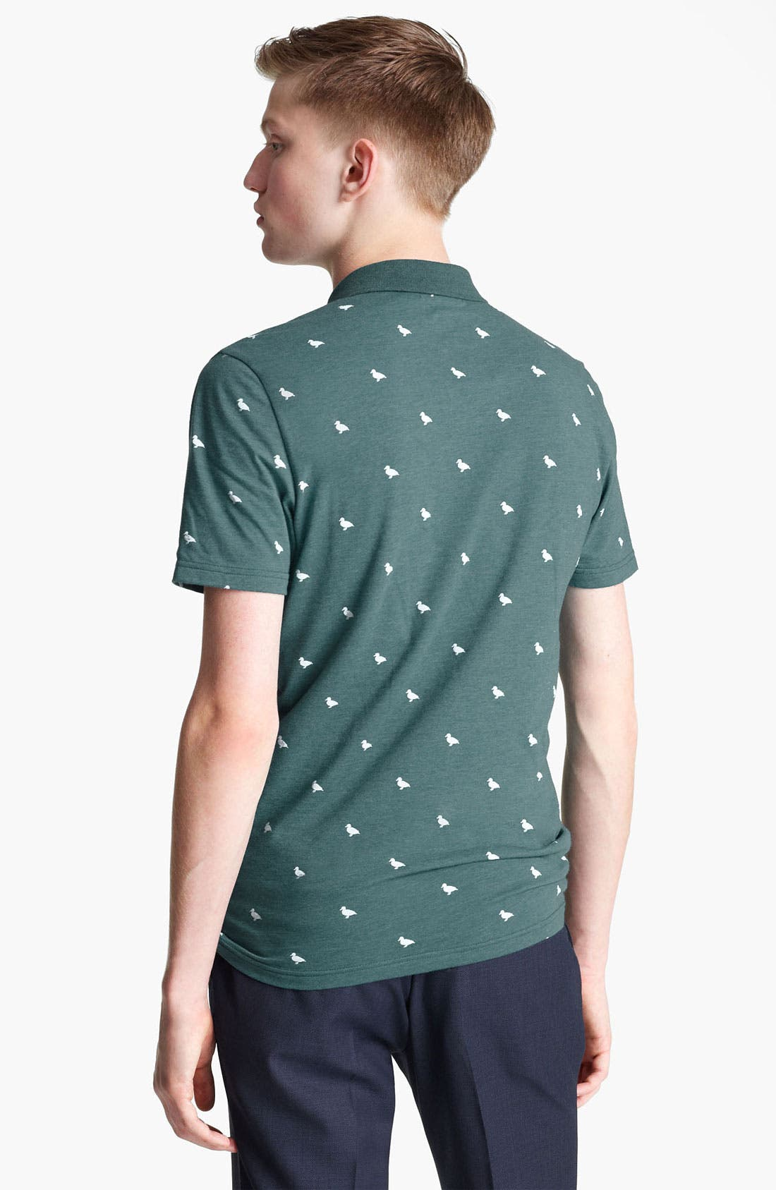 Alternate Image 2  - Topman Duck Print Polo