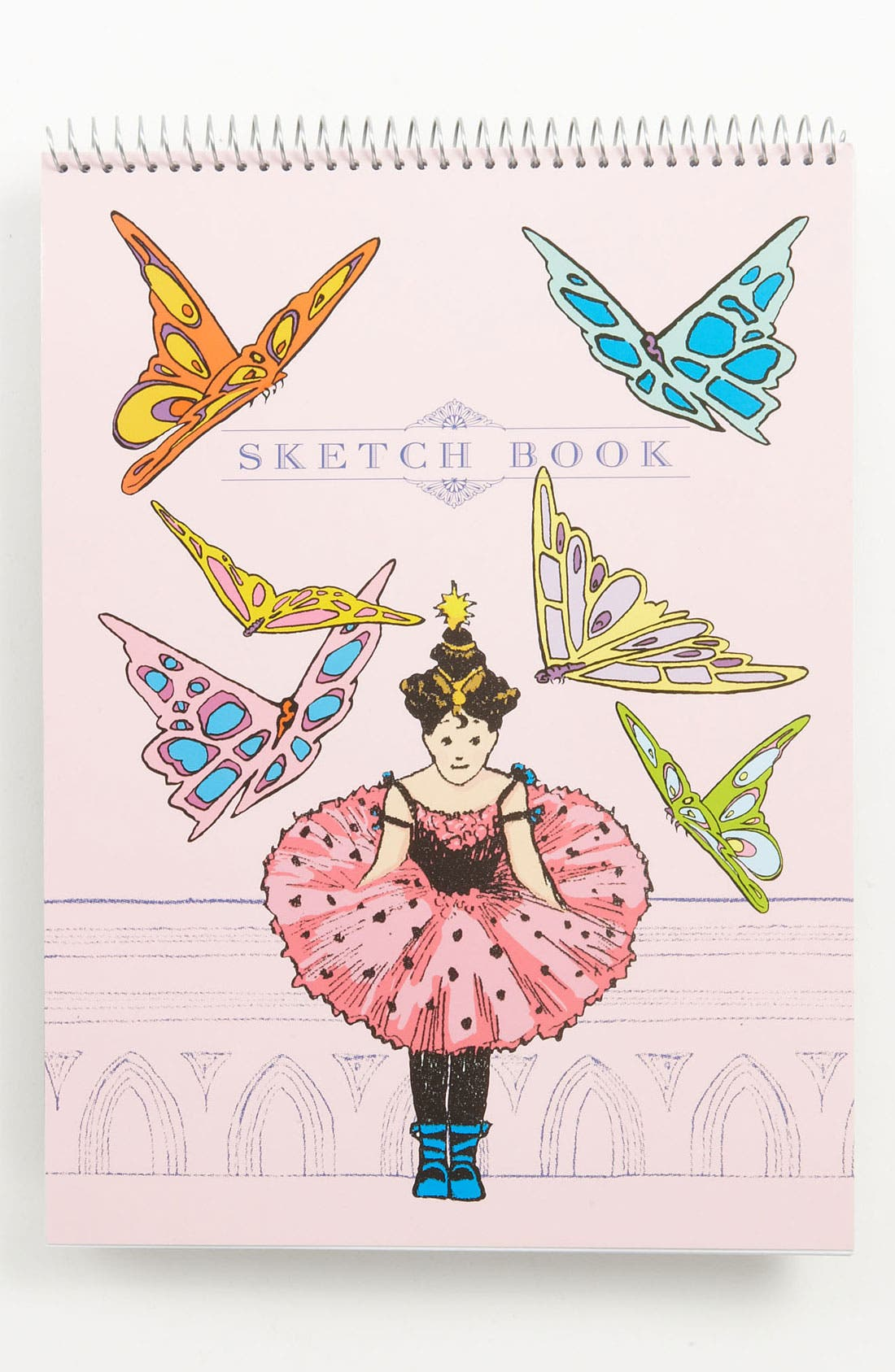 Alternate Image 1 Selected - eeBoo 'Princess & Butterflies' Sketchbook