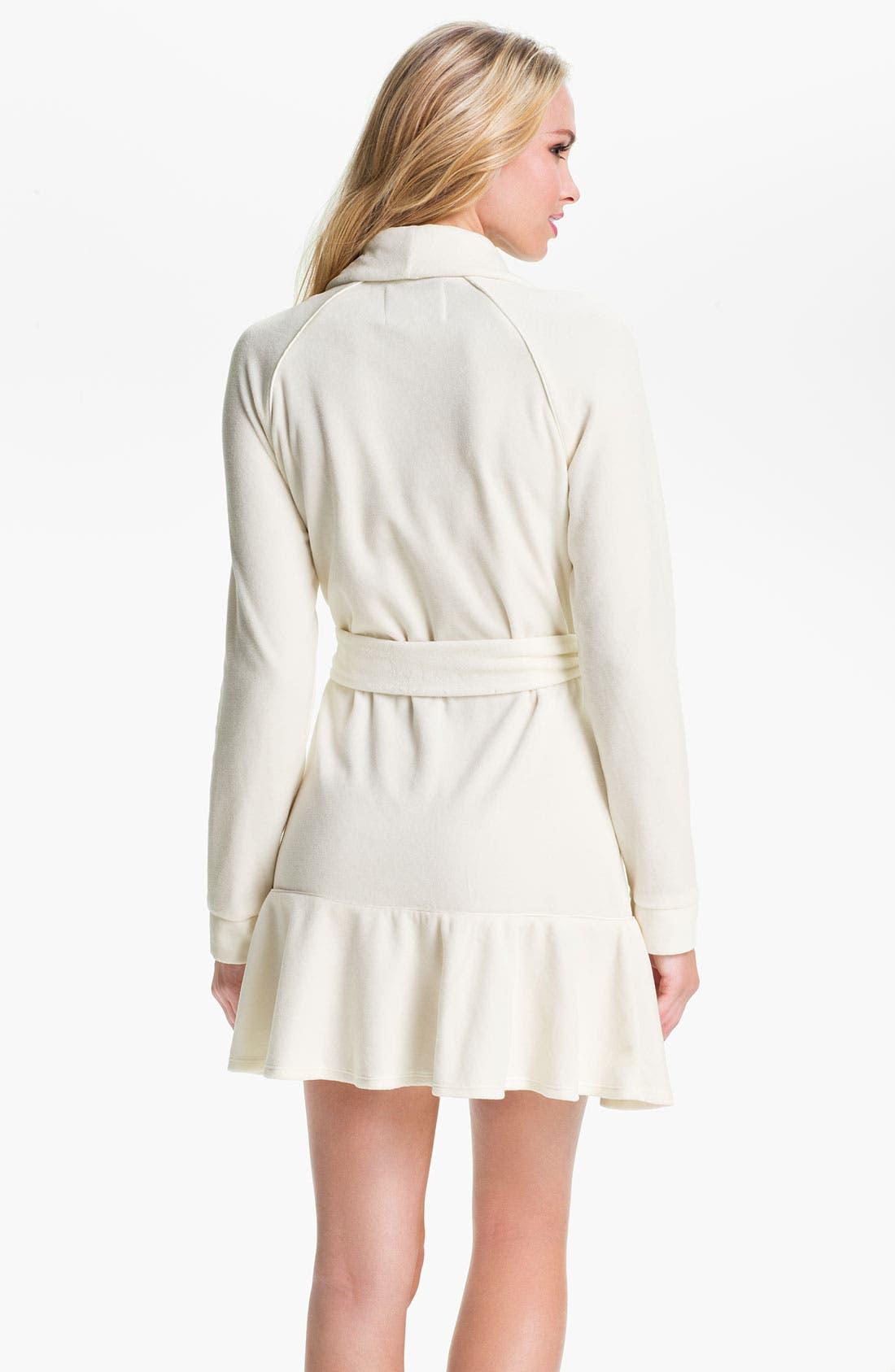 Alternate Image 2  - Juicy Couture Short Velour Robe
