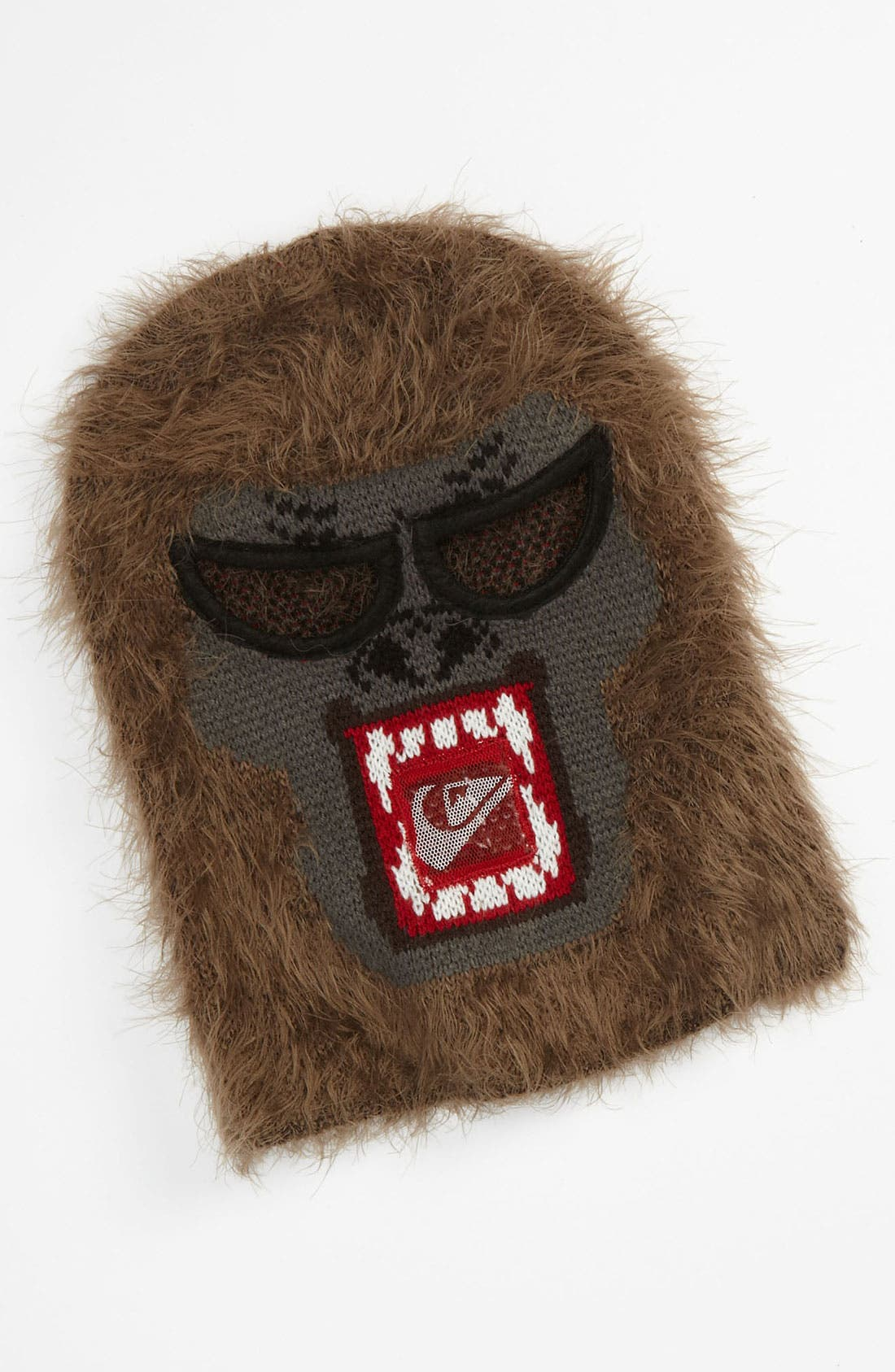 Alternate Image 1 Selected - Quiksilver 'Gettin' Bananas' Monkey Mask Hat (Big Boys)