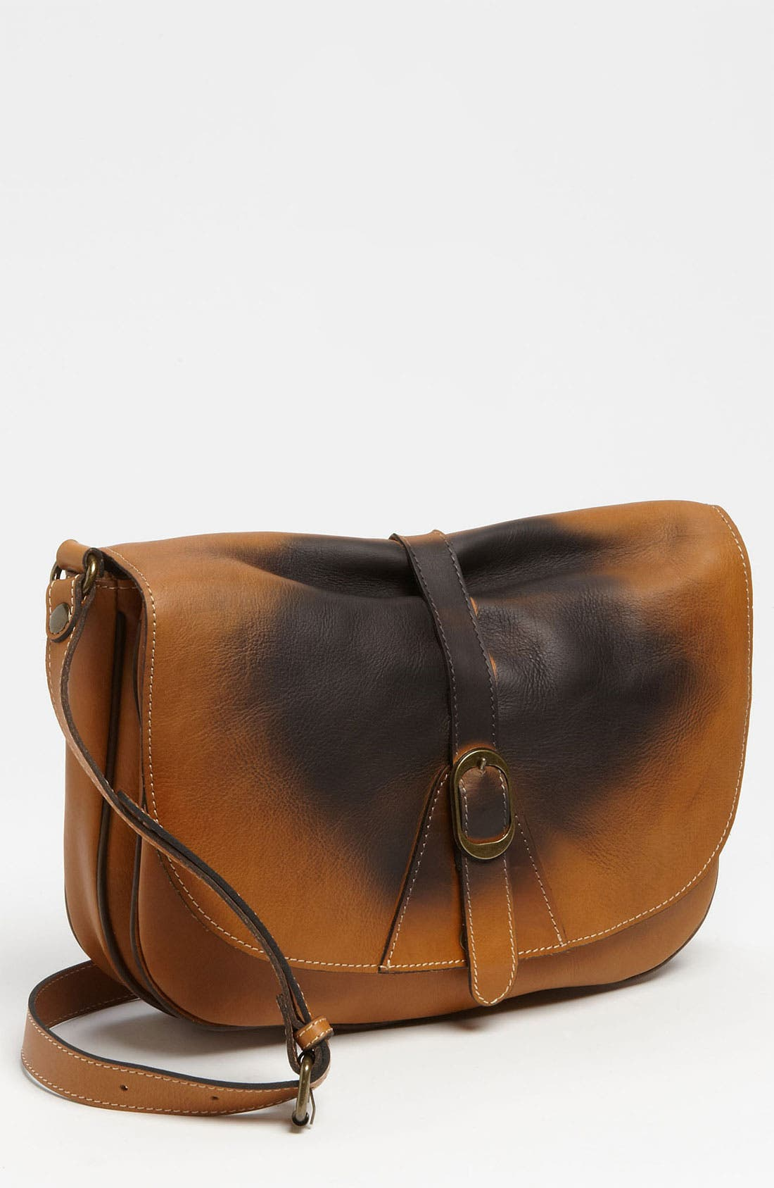 Main Image - Patricia Nash 'Sorano - Shoe Polish' Crossbody Satchel