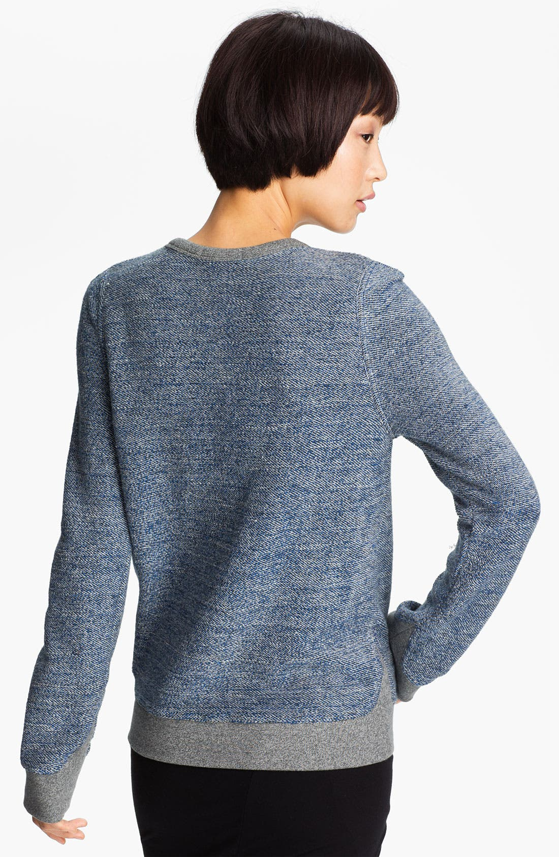 Alternate Image 2  - T by Alexander Wang French Terry Sweatshirt