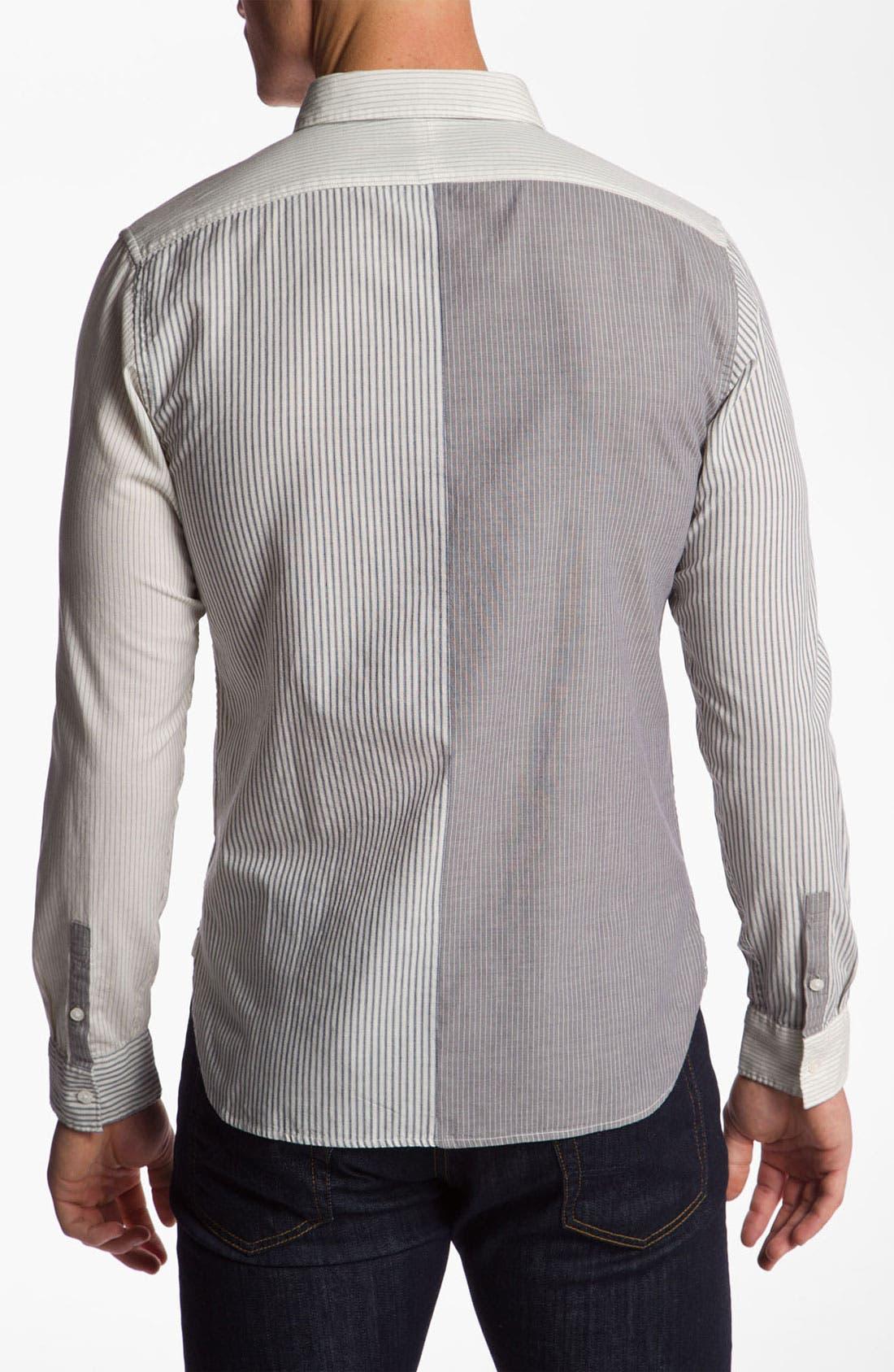Alternate Image 2  - Edun Woven Sport Shirt