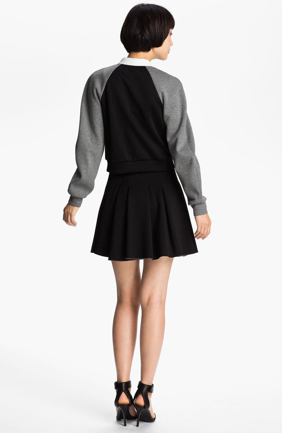 Alternate Image 2  - T by Alexander Wang Neoprene Bomber Jacket