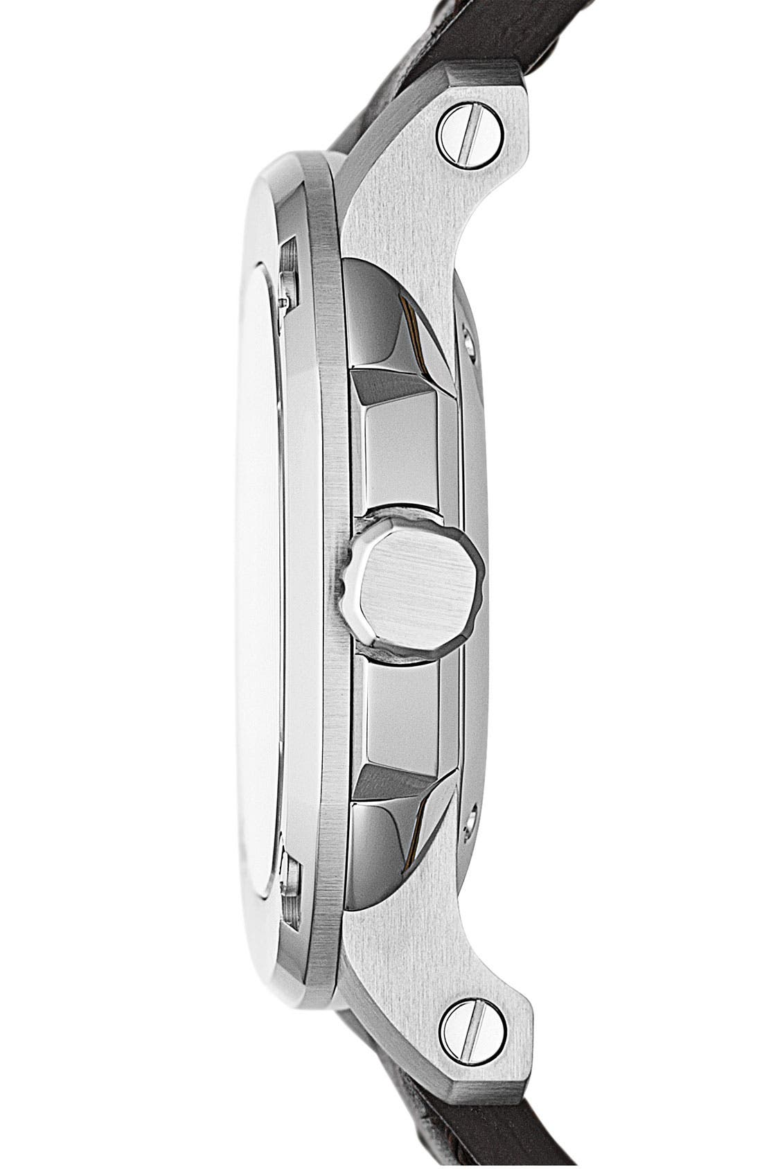 Alternate Image 2  - Burberry The Britain Leather Strap Watch