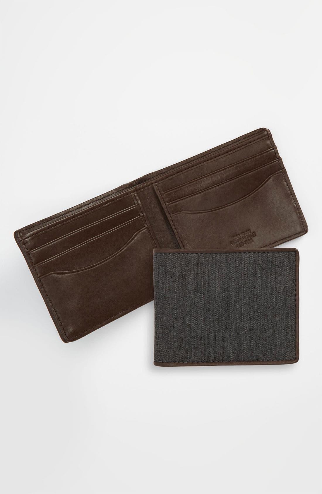 Alternate Image 1 Selected - Jack Spade Herringbone Wallet