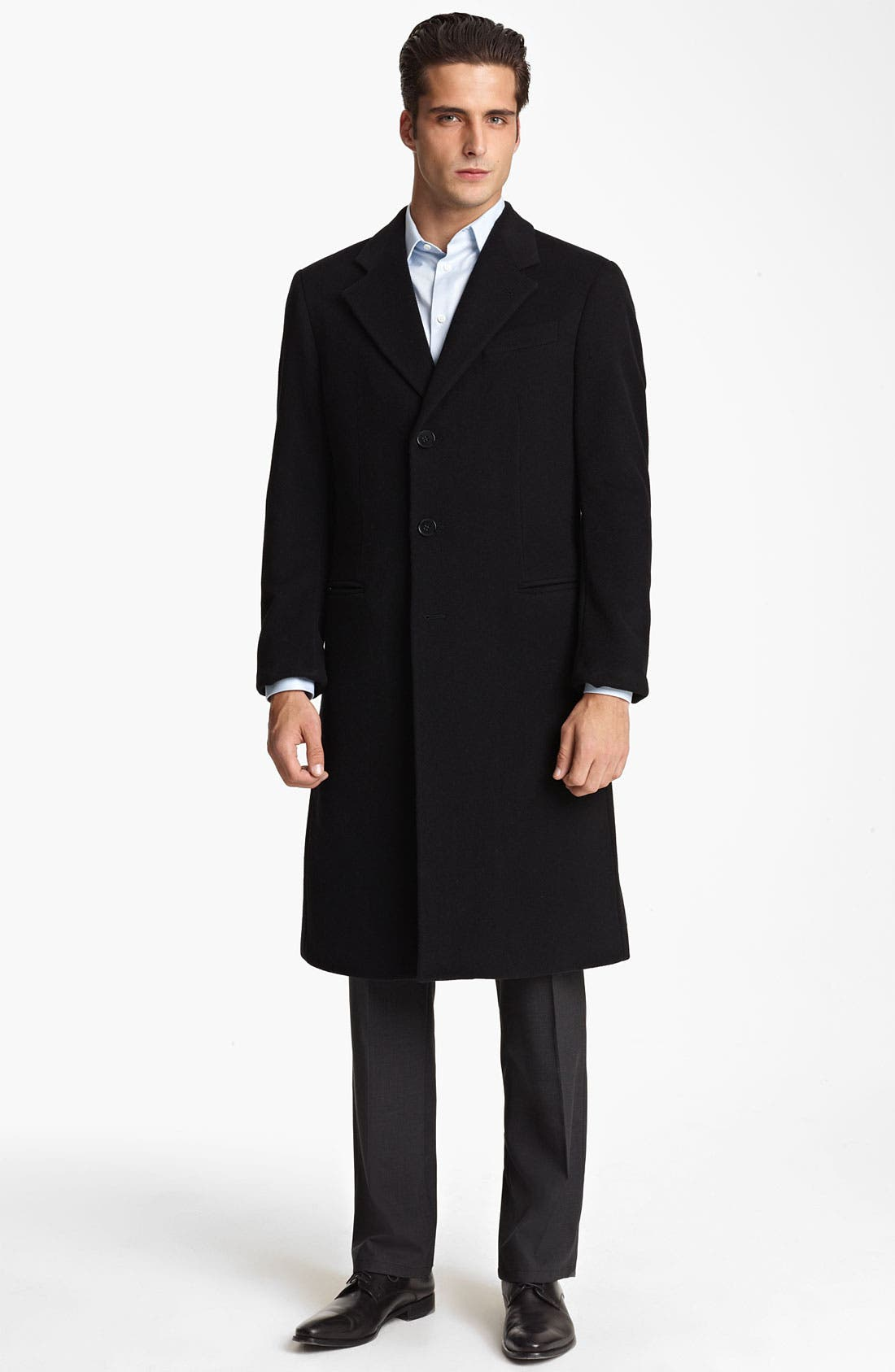 Alternate Image 1 Selected - Armani Collezioni 'Executive' Topcoat