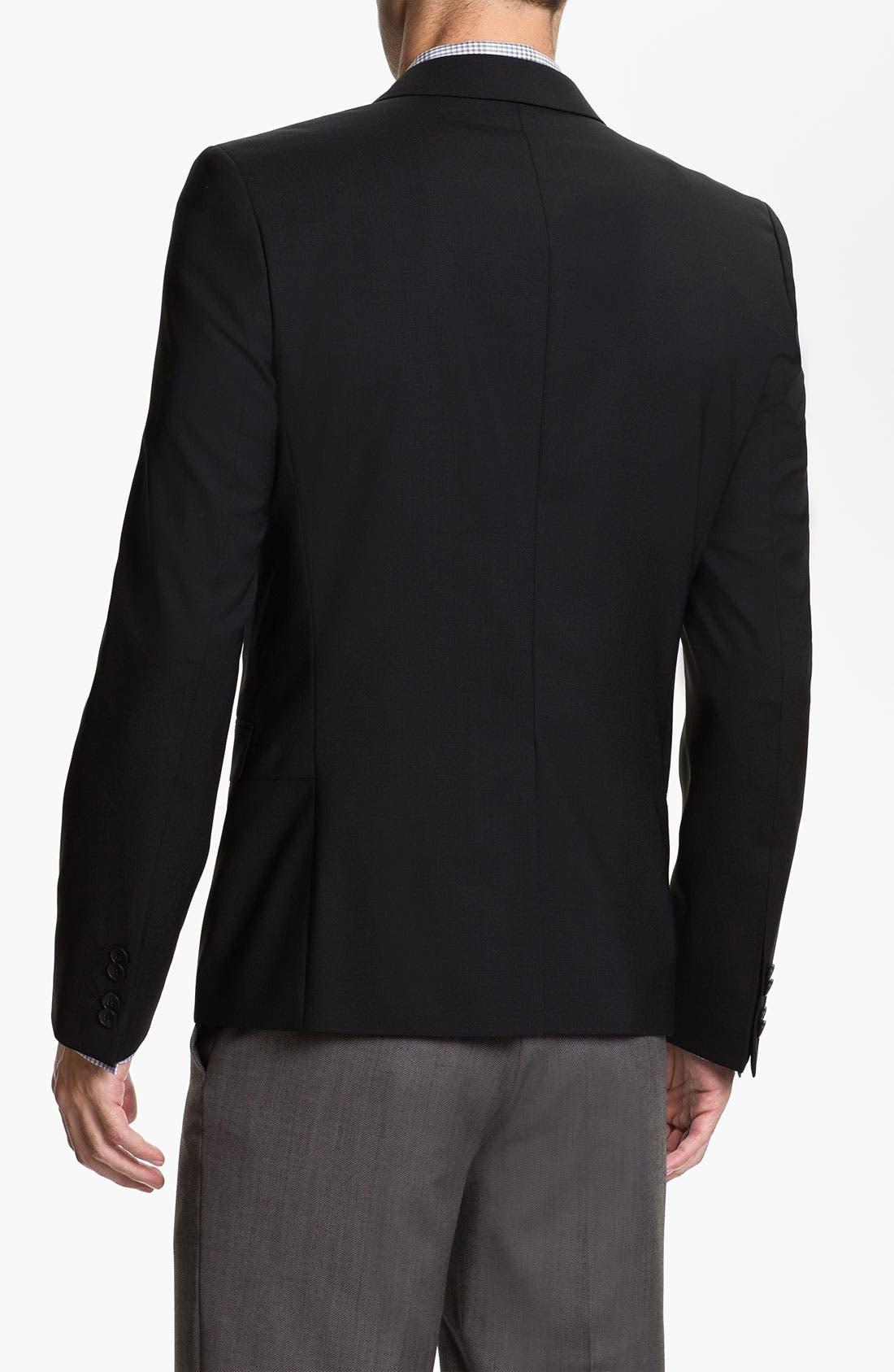 Alternate Image 2  - HUGO 'Arwis' Trim Fit Stretch Wool Blazer