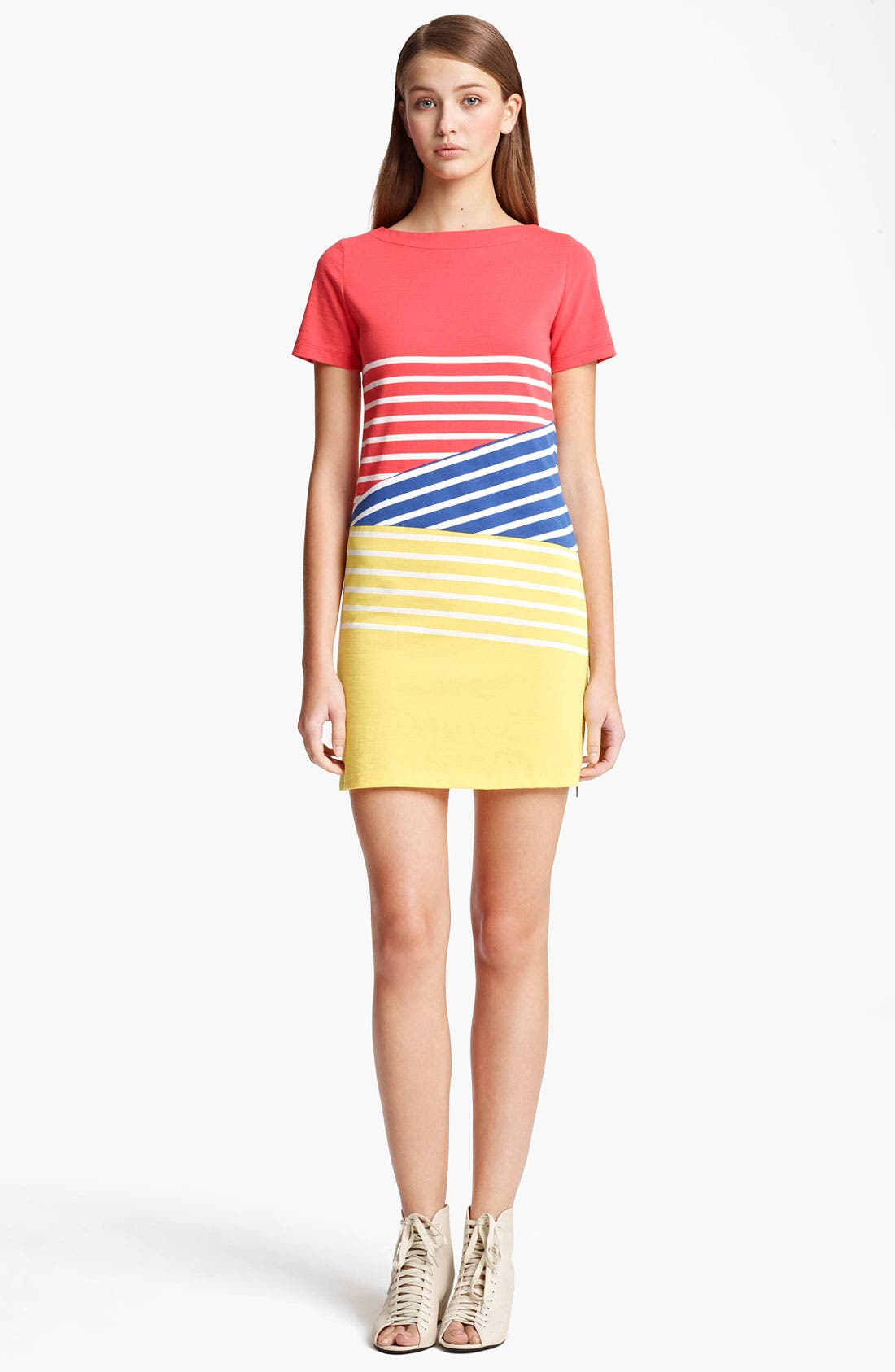 Alternate Image 1 Selected - Band of Outsiders 'Breton' Stripe Dress