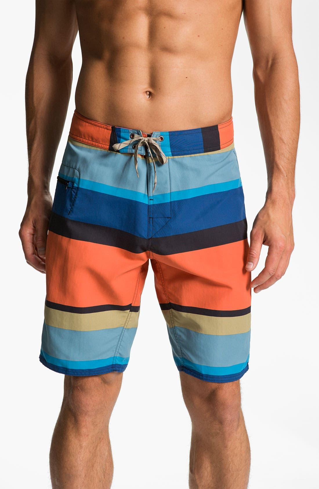 Main Image - Patagonia 'Wavefarer' Board Shorts (Men)