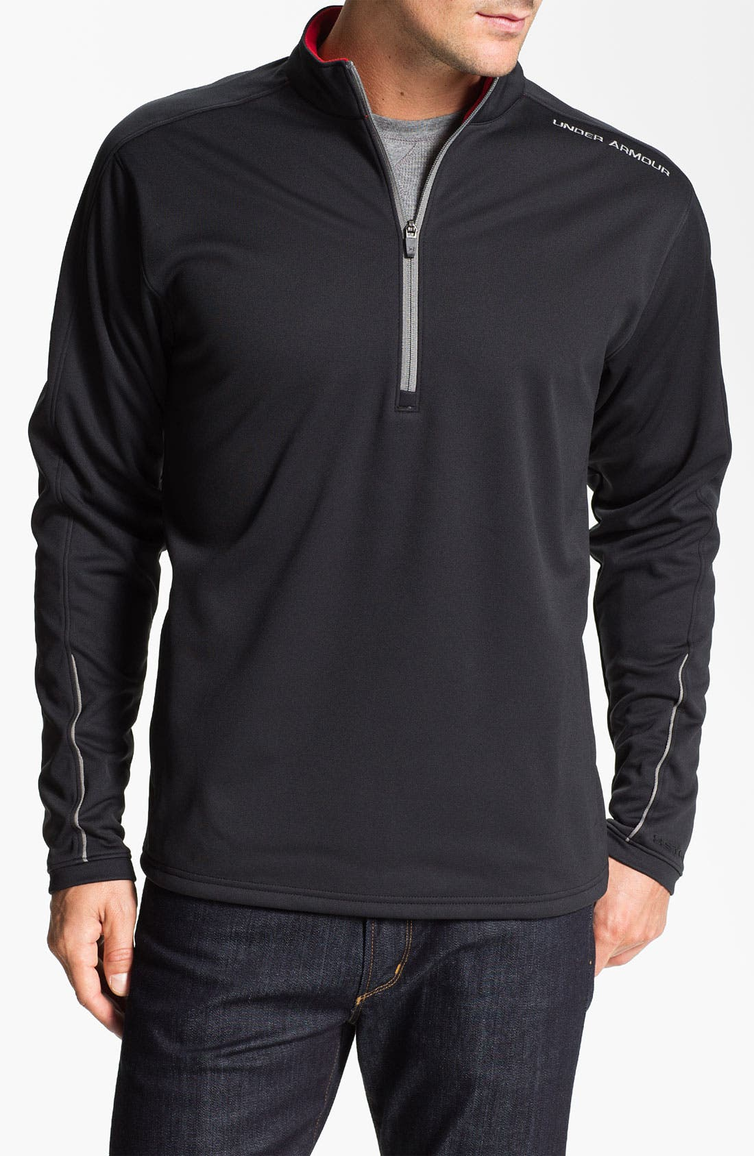 Main Image - Under Armour 'ColdGear® Elements - Storm' Quarter Zip Jacket