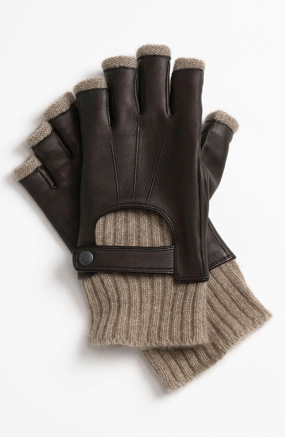 Alternate Image 1 Selected - John Varvatos Star USA Fingerless Driving Gloves