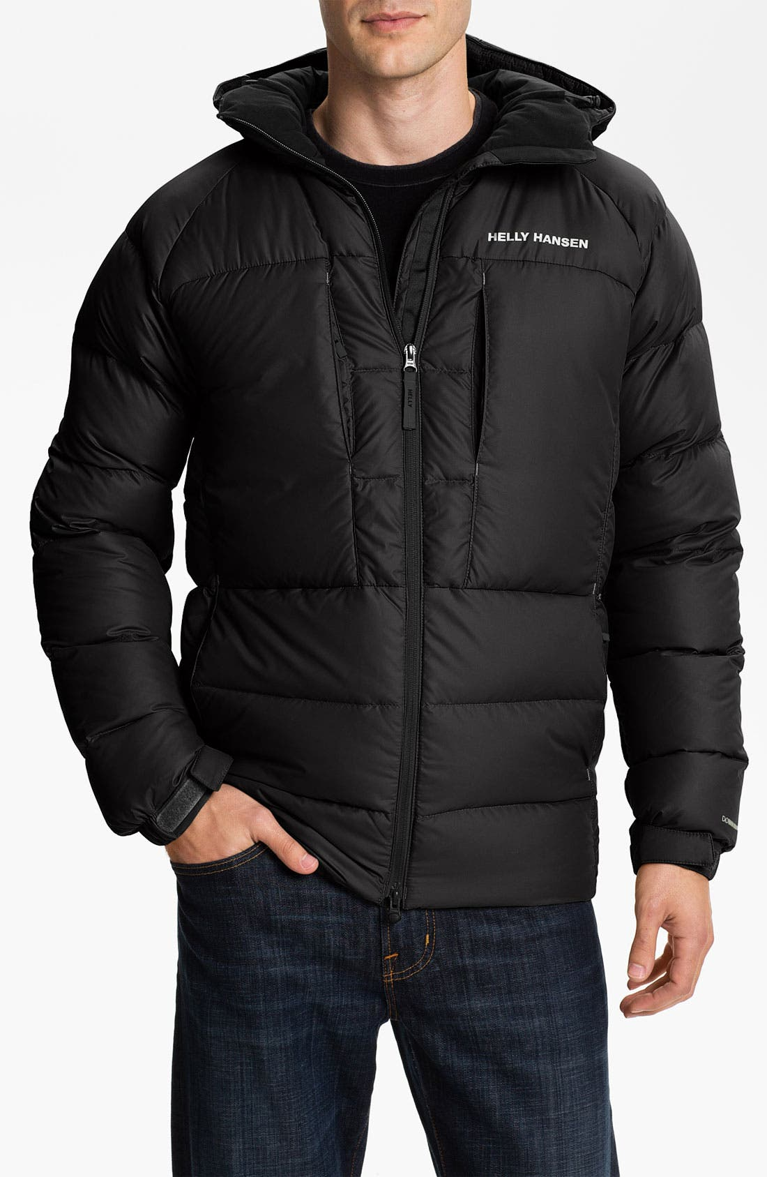 Alternate Image 1 Selected - Helly Hansen 'Quebec' Hooded Down Jacket