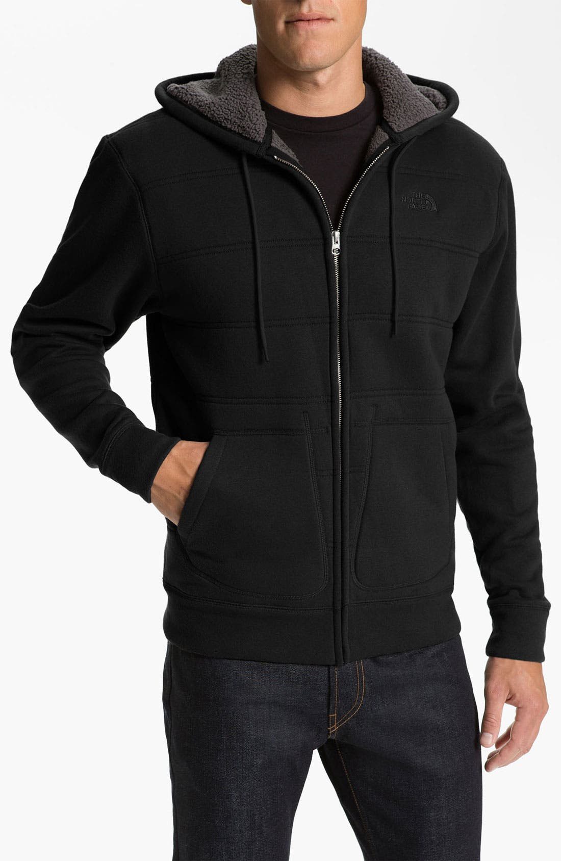 Alternate Image 1 Selected - The North Face 'Wanaka' Zip Hoodie