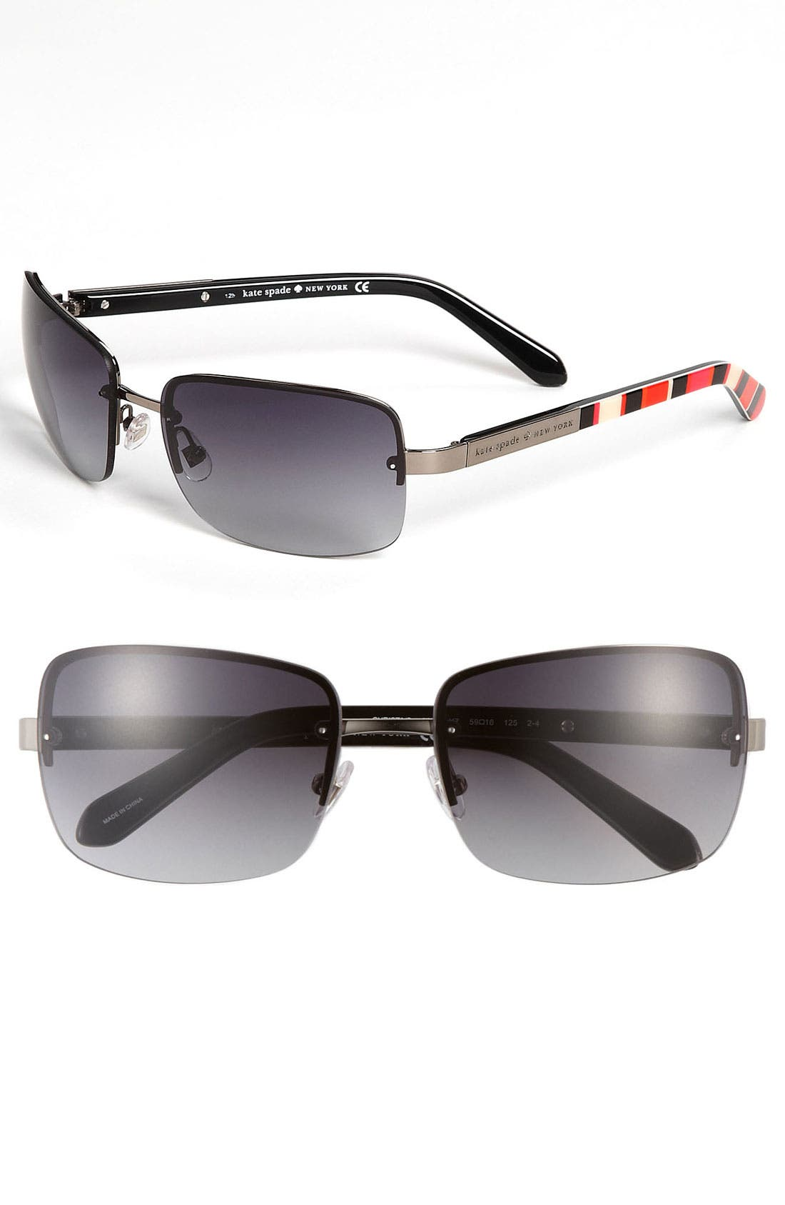 Main Image - kate spade new york 'christa' 59mm rimless sunglasses