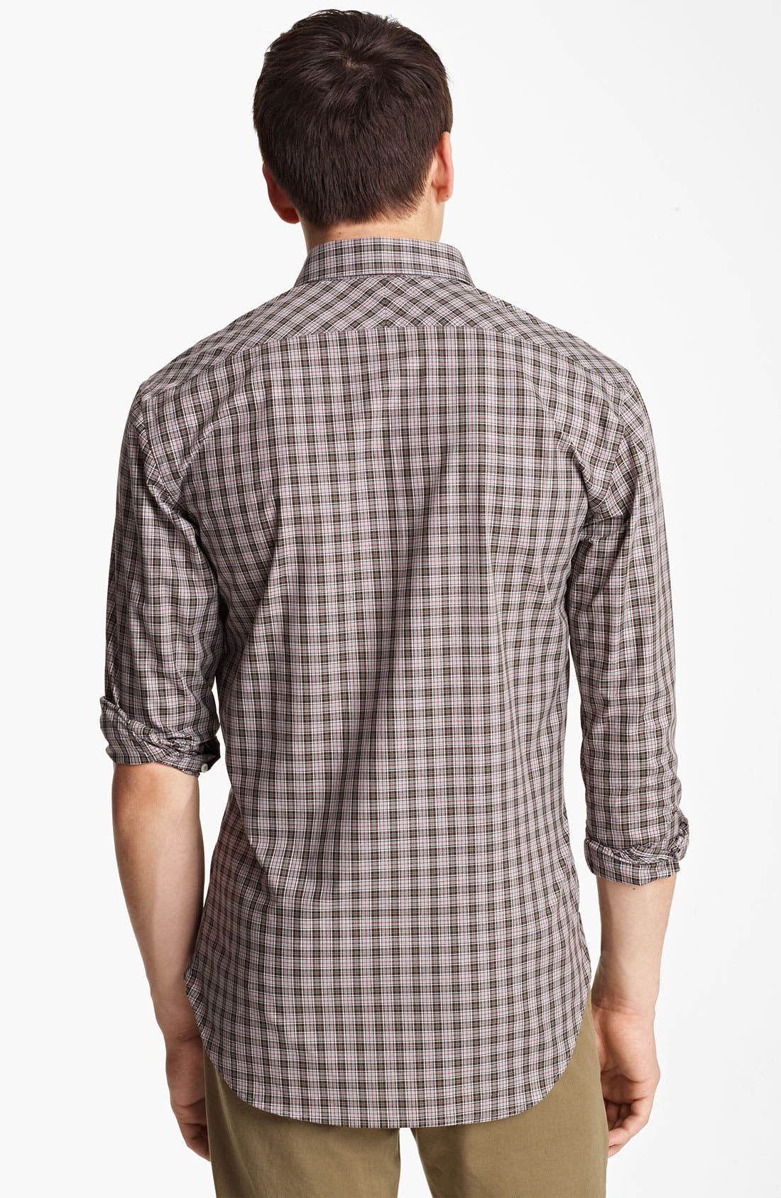 Alternate Image 2  - Billy Reid 'John T' Check Woven Shirt