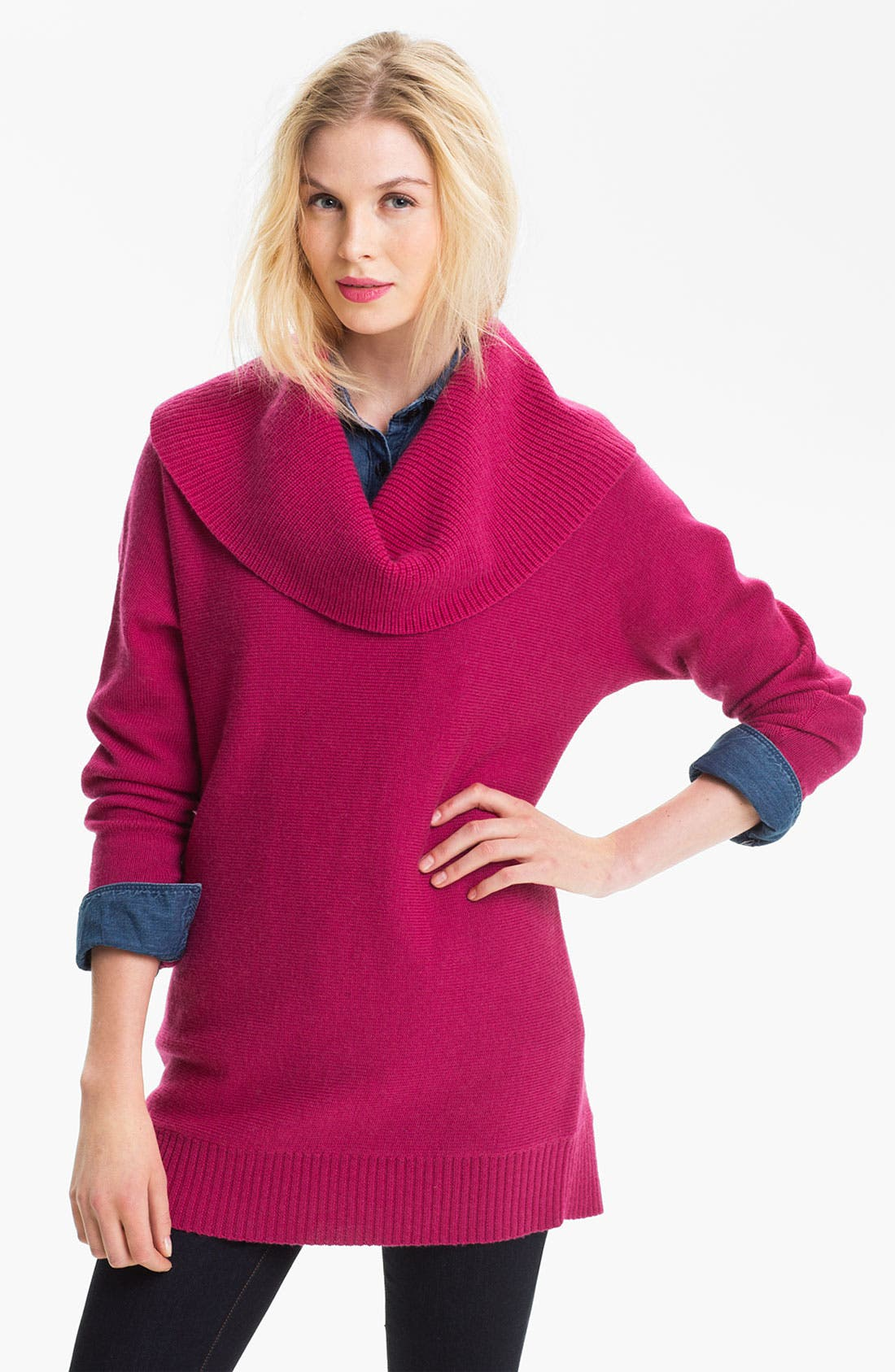 Alternate Image 1 Selected - Caslon® Cowl Neck Dolman Sweater