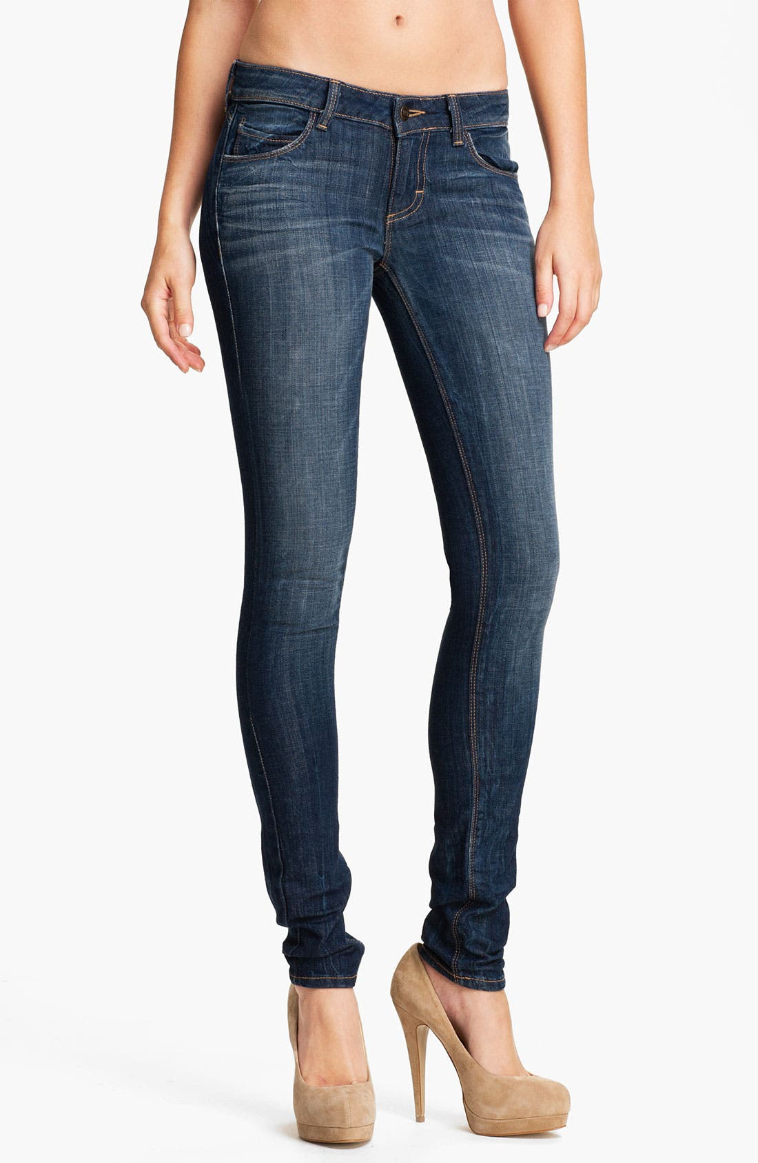 Main Image - Siwy 'Leona' Skinny Stretch Jeans (Rhythm of the Rain)