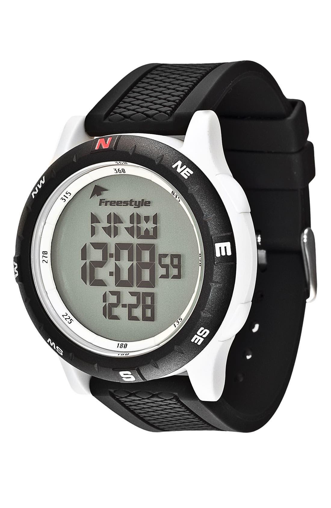 Main Image - Freestyle 'Navigator 3.0' Digital Sport Watch, 45mm