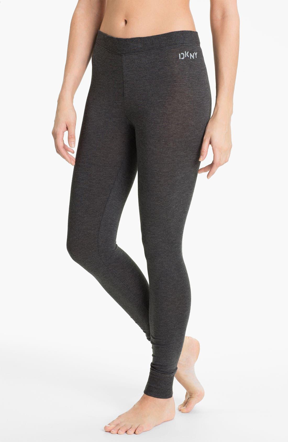 Alternate Image 1 Selected - DKNY Base Layer Cuff Leggings